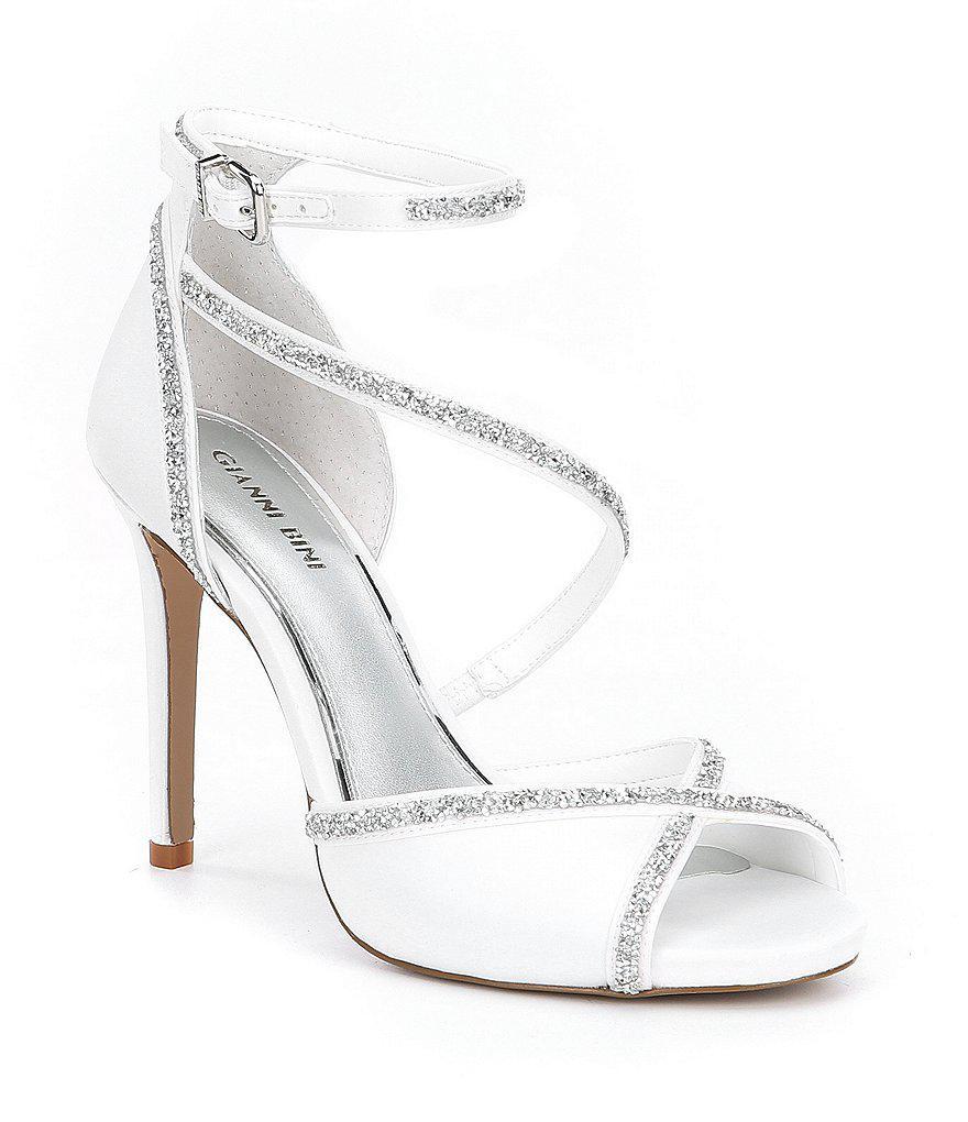 3d2f3320607 Lyst - Gianni Bini Rosalynd Hot Rock Detail Ankle Strap Dress ...