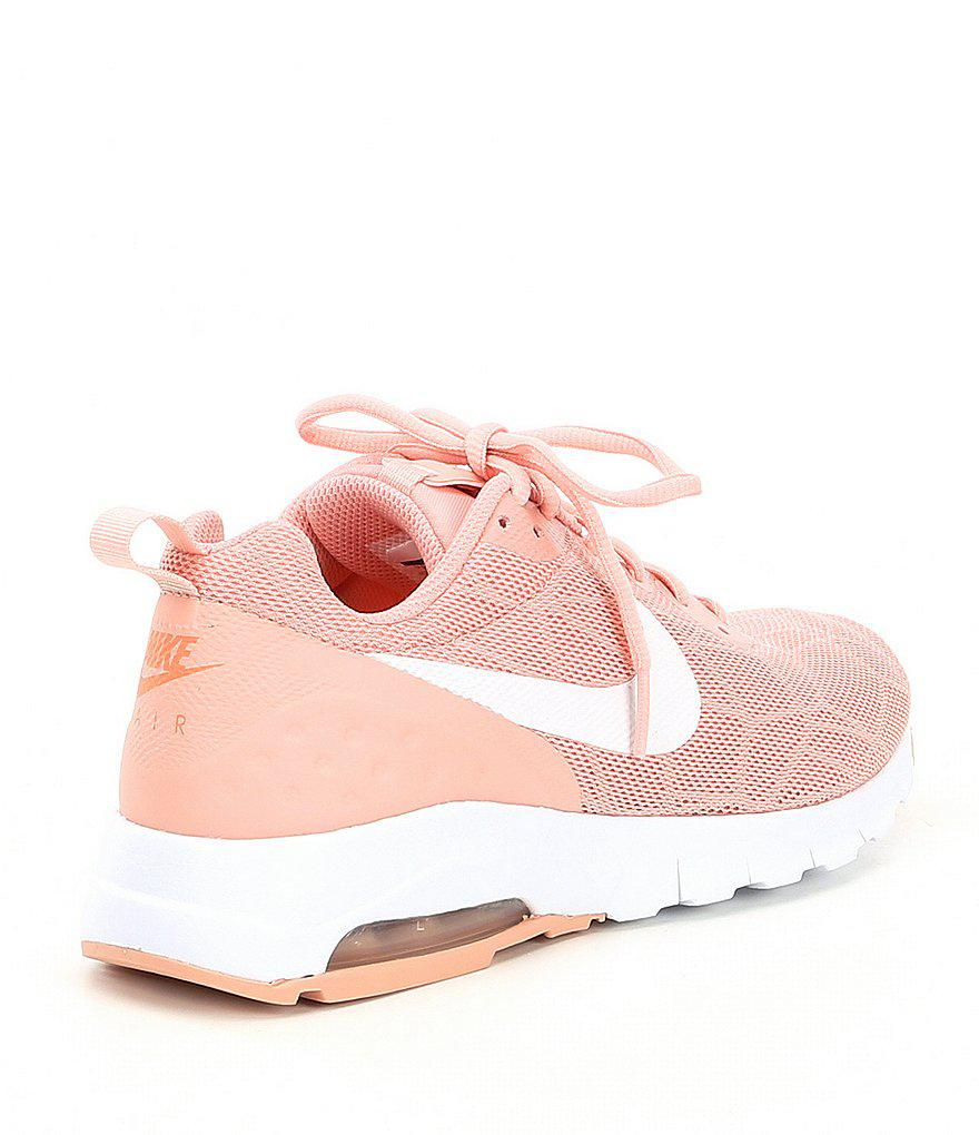 quality design 007cf de086 Dillards ... Nike - Pink Womens Air Max Motion Lifestyle Shoes - Lyst. ...