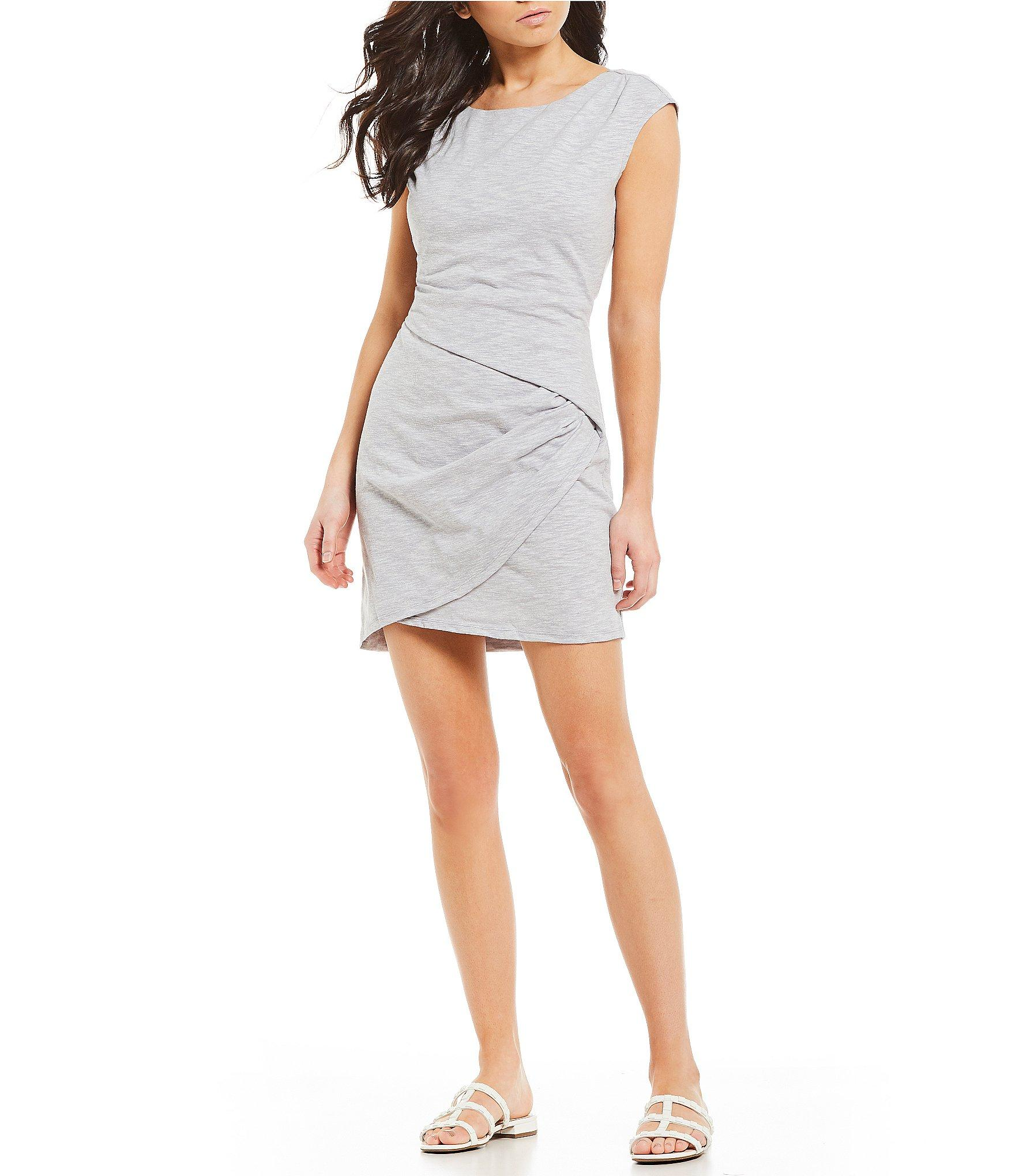 7f19ba16cd0 Lyst - Jessica Simpson Kamile Knit Dress in Gray
