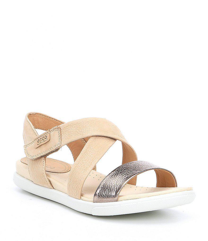 0f152b9f8fe6 Lyst - Ecco Damara Criss Cross Sandals
