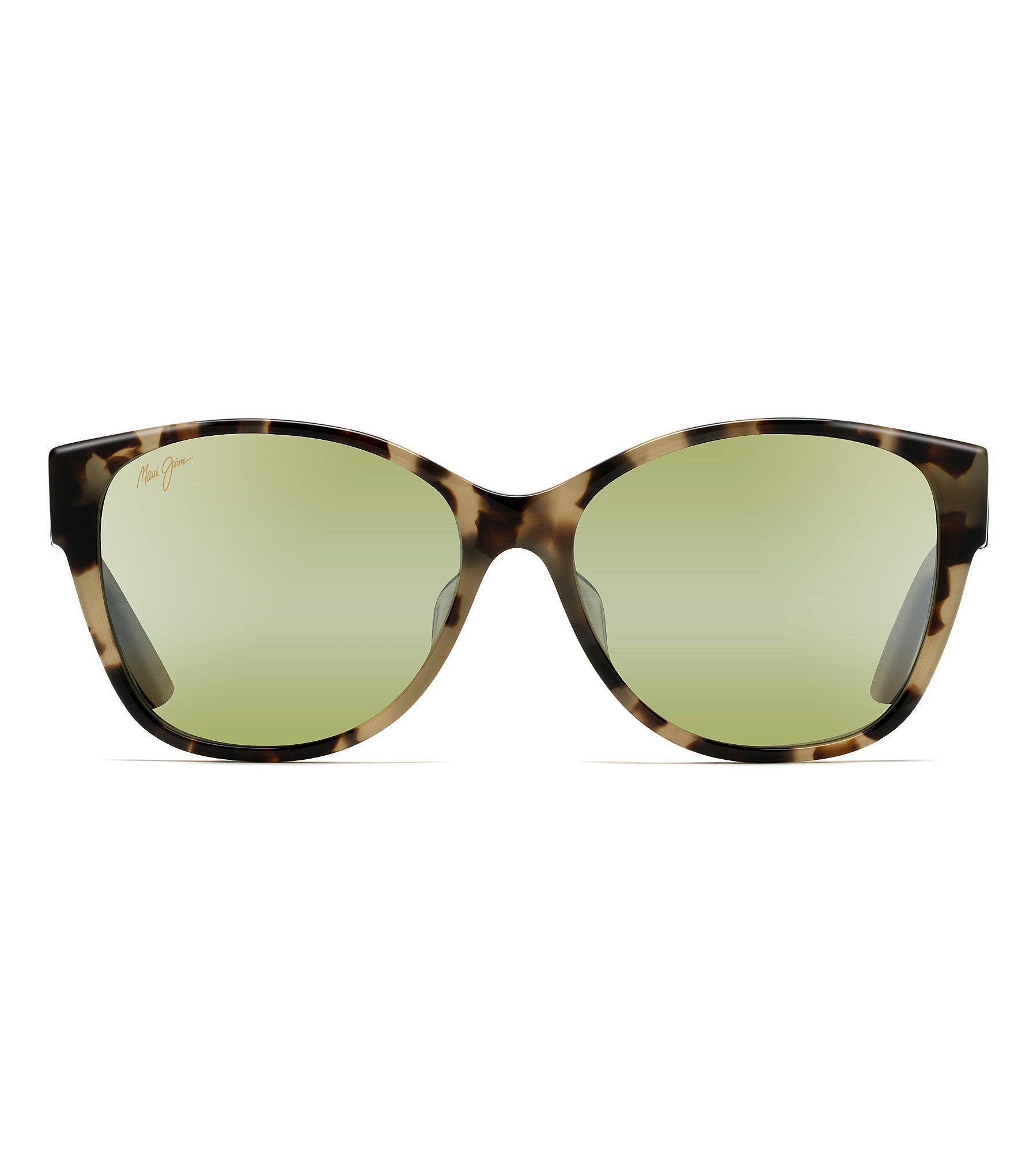 26f5514549c Maui Jim - Green Summer Time Polarized Gradient Sunglasses - Lyst. View  fullscreen