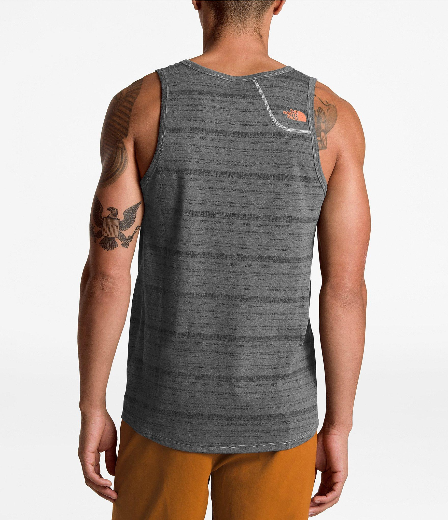 d64aaf64f Lyst - The North Face Beyond Wall Flashdry Tank in Gray for Men