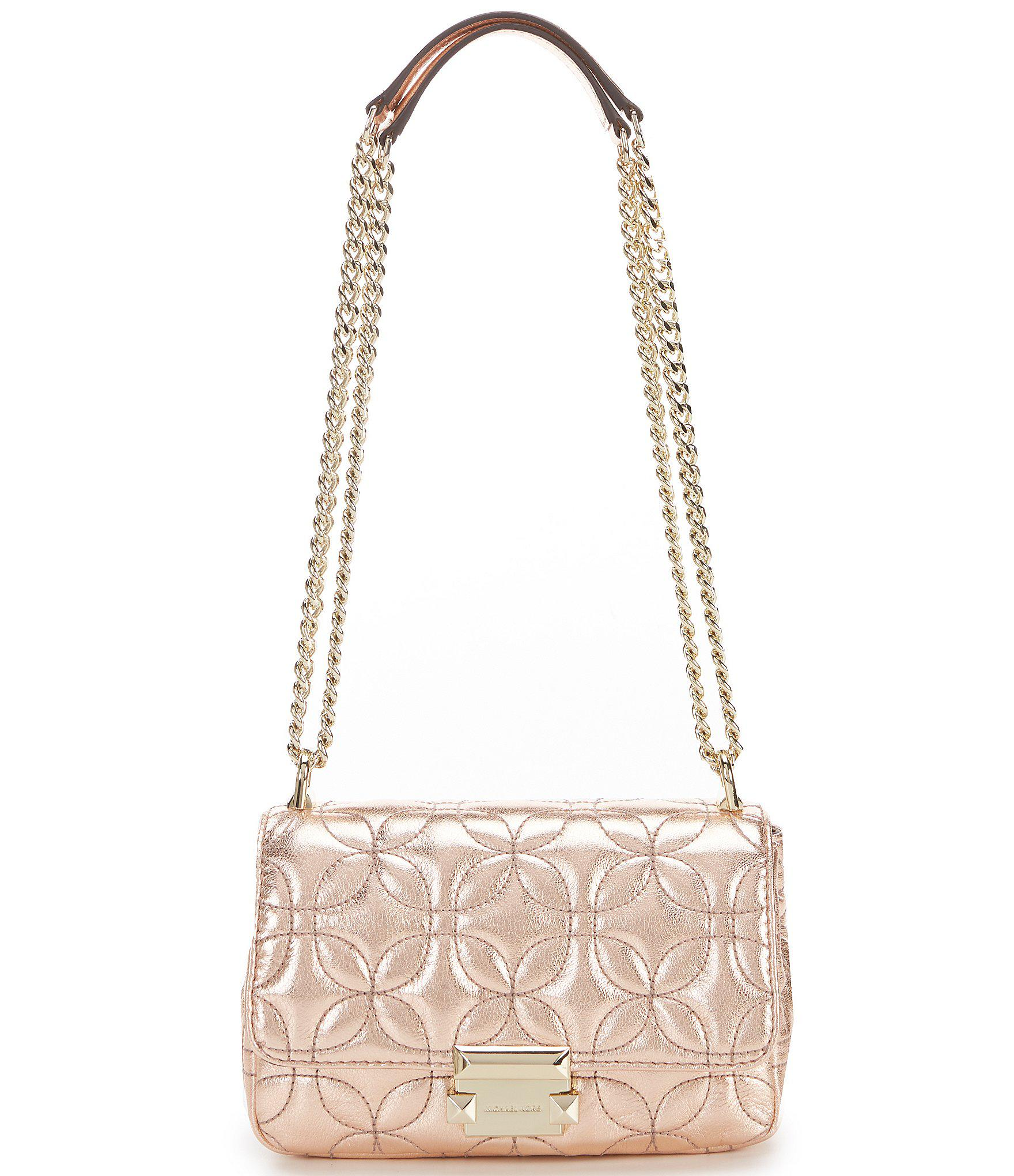 51043c019efec MICHAEL Michael Kors. Women s Sloan Small Chain Metallic Shoulder Bag