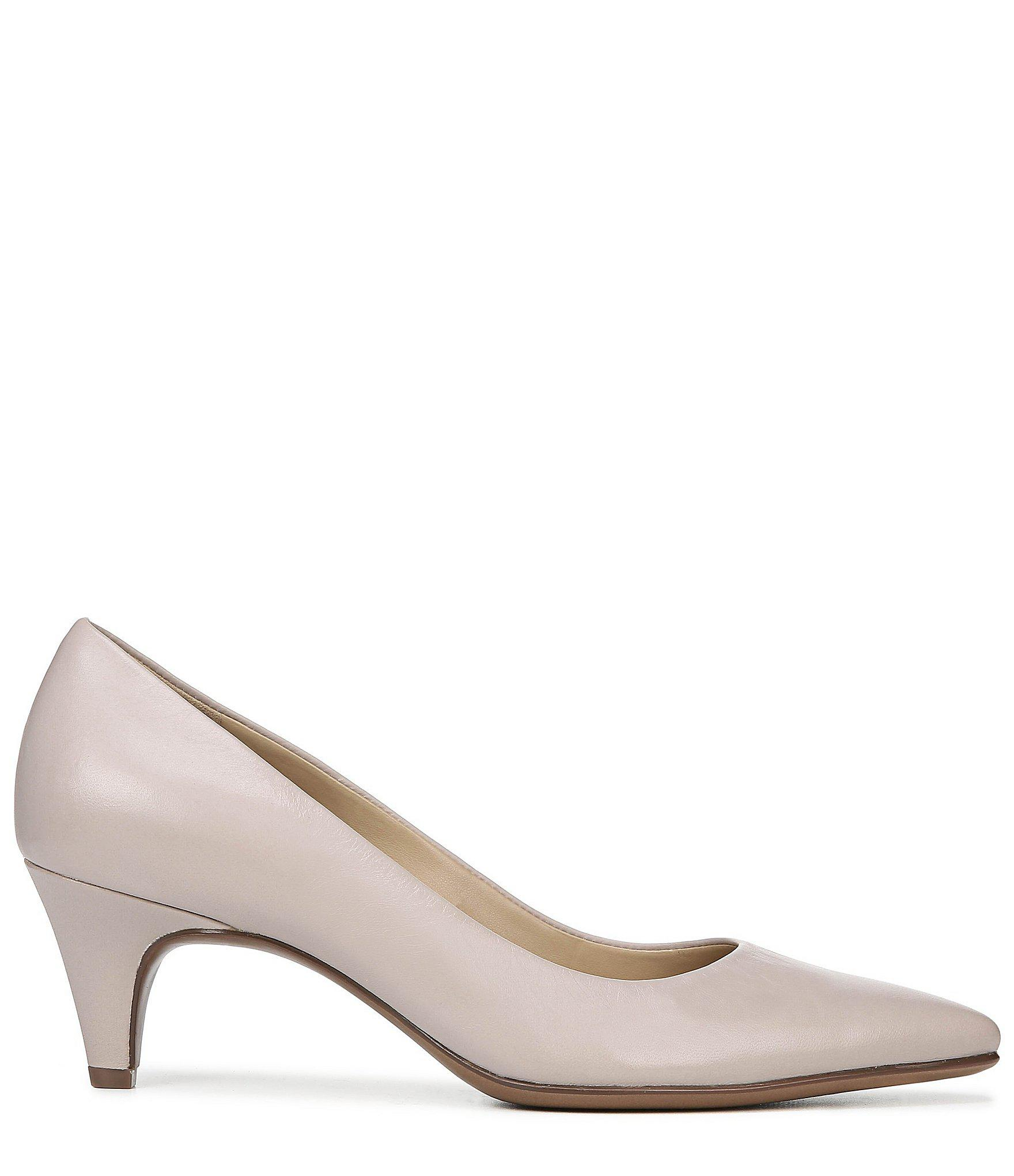 be57f5fd9307 Naturalizer - Multicolor Beverly Leather Kitten Heel Pumps - Lyst. View  fullscreen