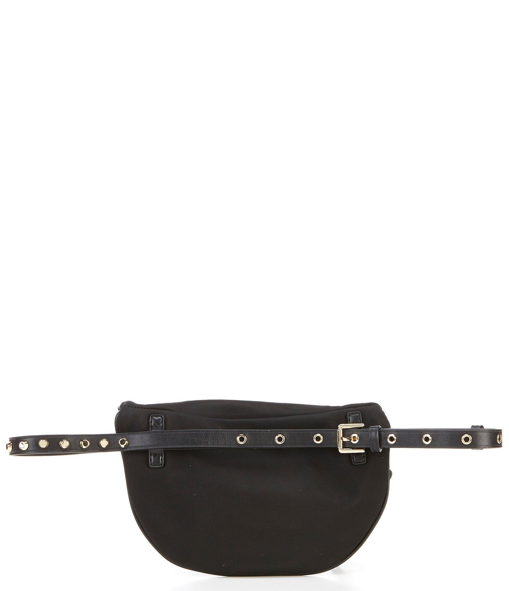 4048c0a7748d MICHAEL Michael Kors - Black Leila Small Nylon Belt Bag - Lyst. View  fullscreen