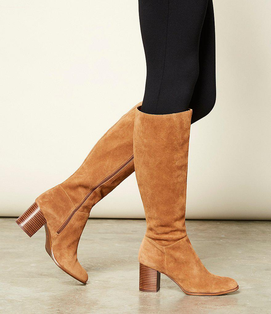 a2b70a82d21 Antonio Melani Dreda Suede Dress Boots in Brown - Lyst