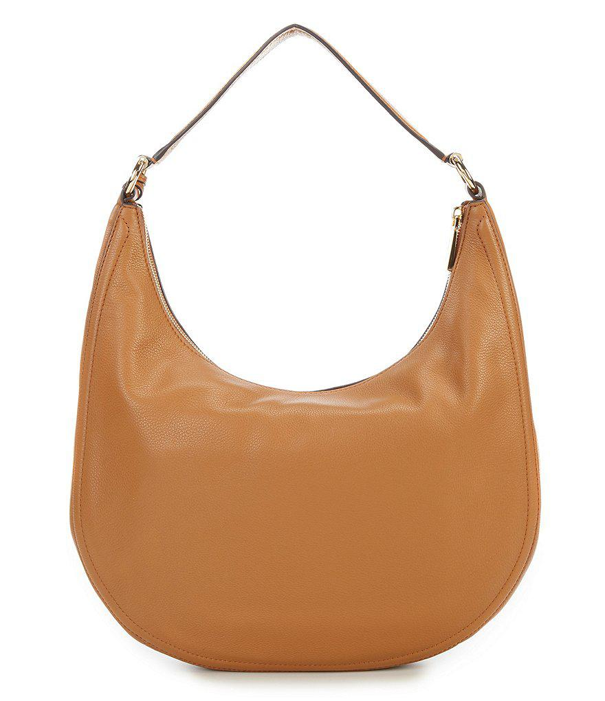 ff53694809f6 MICHAEL Michael Kors Lydia Large Tassel Hobo Bag in Brown - Lyst