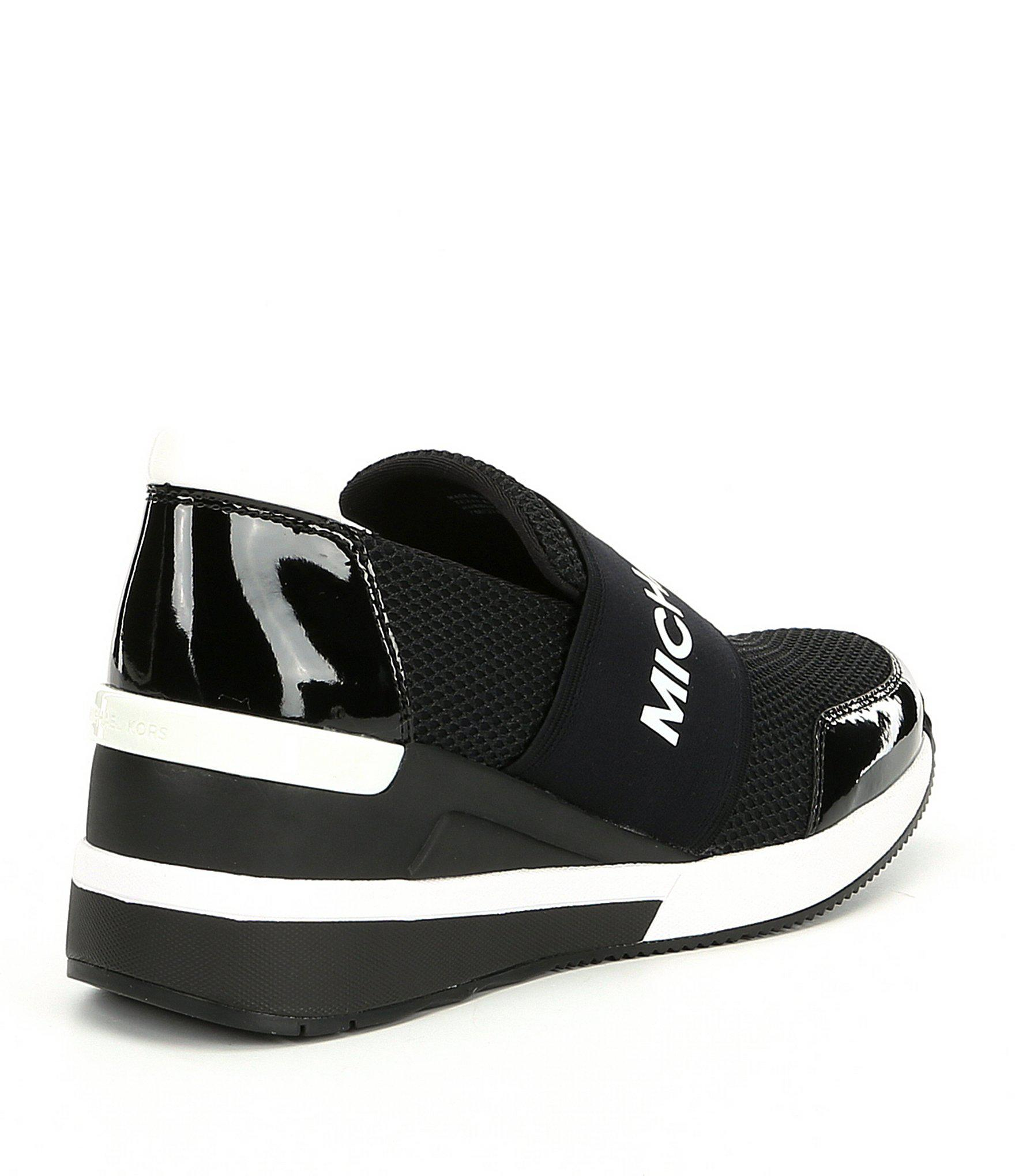 quality design 29160 c20bc ... Felix Trainer Slip-on Wedge Sneakers - Lyst. View fullscreen