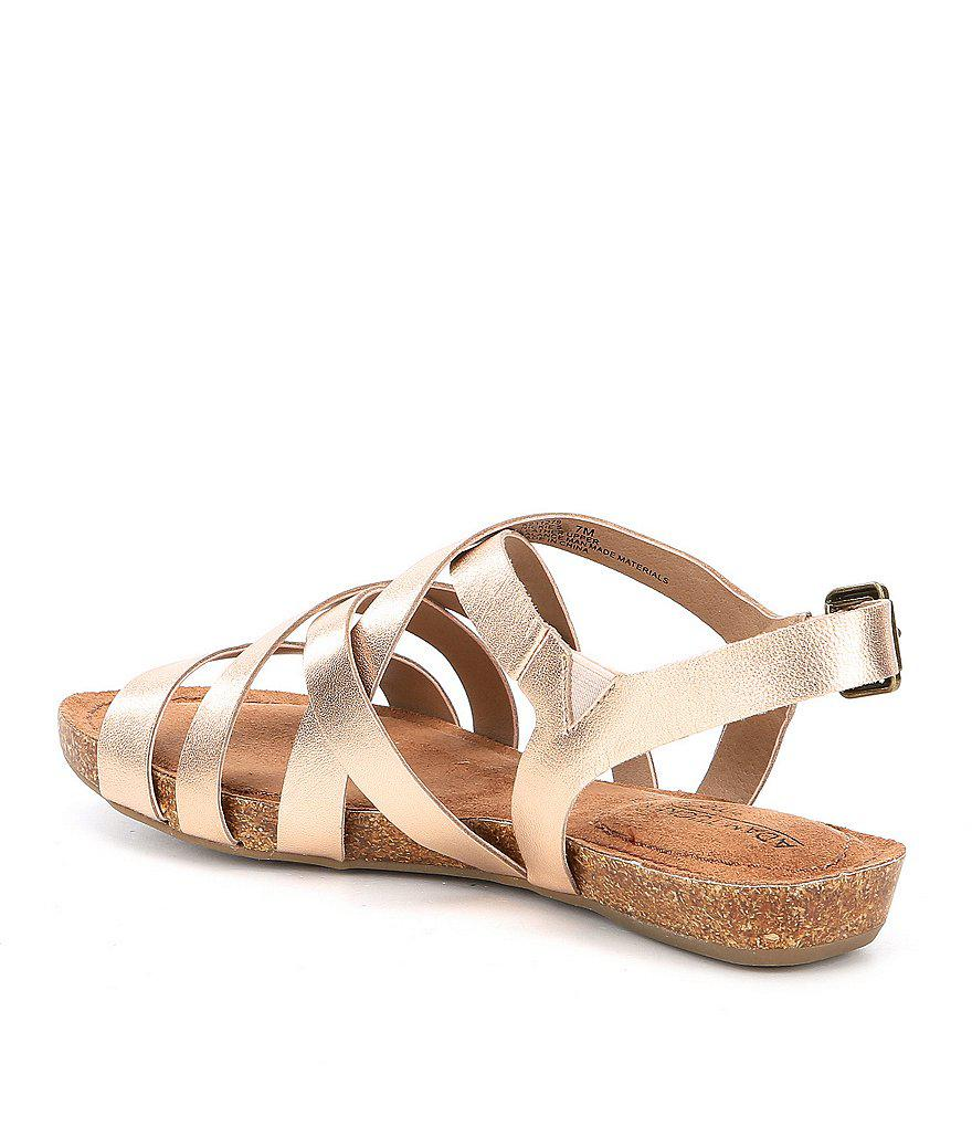Me Too Adam Tucker by Me Too Nickie Strappy Flat Sandals Rac509