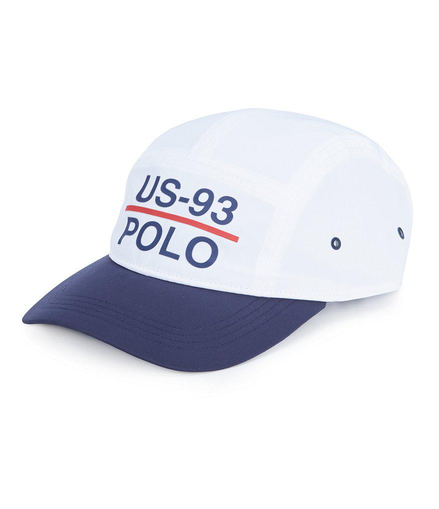 7bc4f4edb0976 Polo Ralph Lauren Cp-93 5-panel Camp Cap in White for Men - Lyst