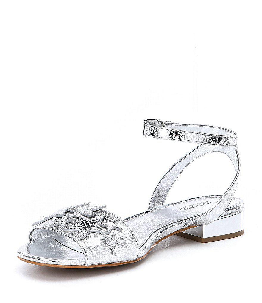 0c088540b8de MICHAEL Michael Kors Lexie Star Embellished Sandal Women dQePF2 ...