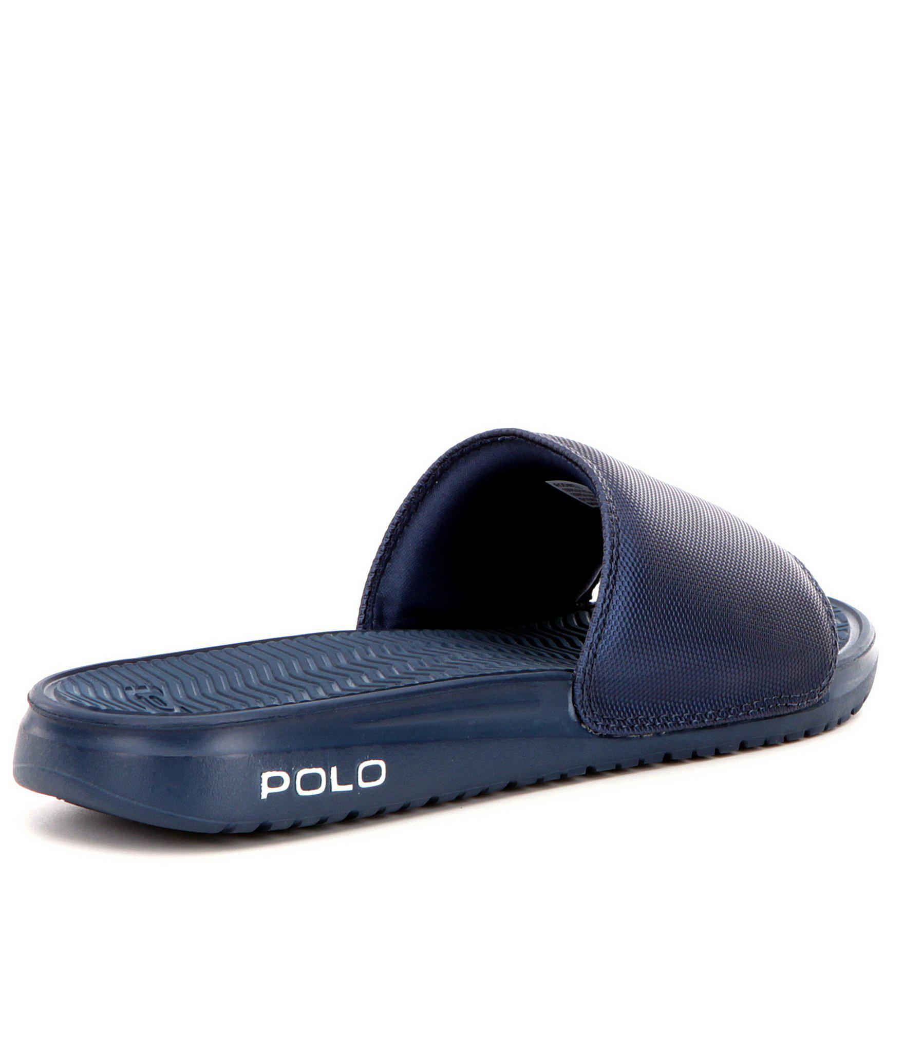 d24cc24706f2 Polo Ralph Lauren - Blue Men ́s Rodwell Slide for Men - Lyst. View  fullscreen