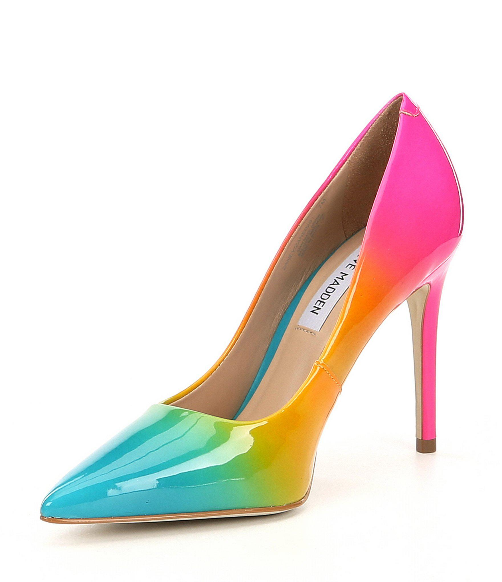 3e408b17c6c Lyst - Steve Madden Zaney Rainbow Dress Pumps