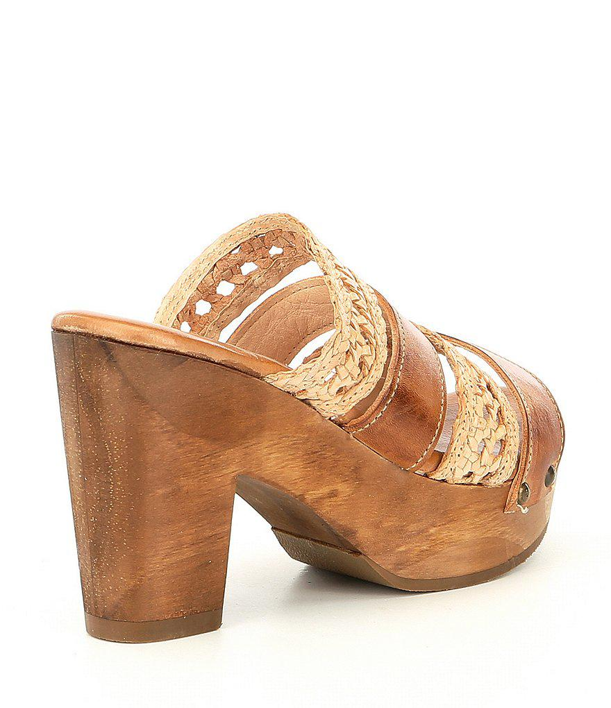 Crystal Banded Woven Block Heel Sandals foPMSYh