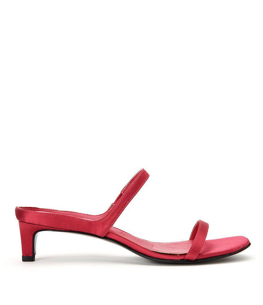 Domenica Satin Dress Sandals Zjr95xG