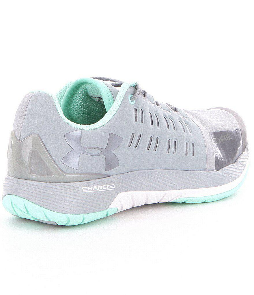 newest collection 2c1b2 f8df8 Under Armour Women ́s Charged Core Lace-up Training Shoes in Gray - Lyst