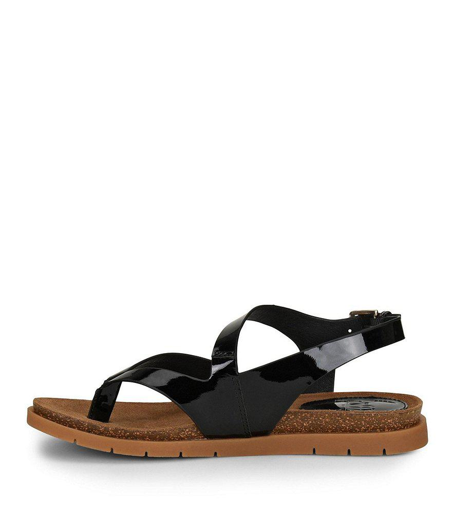 Rory Patent Leather Thong Sandals tZXJW6