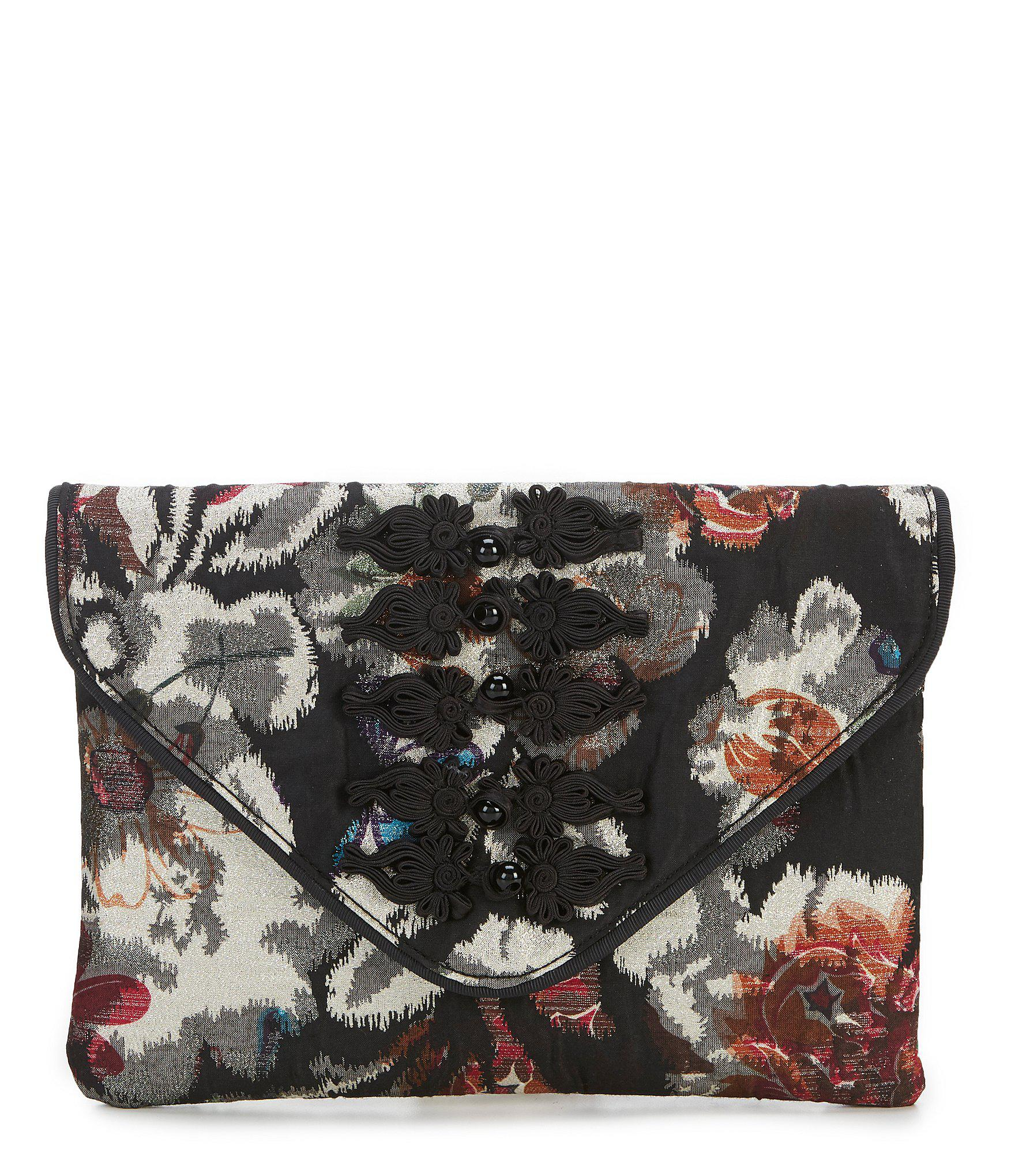 Betsey Johnson. Women s Quilted Floral Envelope Clutch 9f6c9ced09