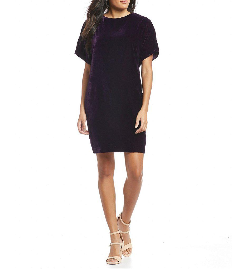 73bb6471e54 Gallery. Previously sold at  Dillard s · Women s Velvet Dresses ...