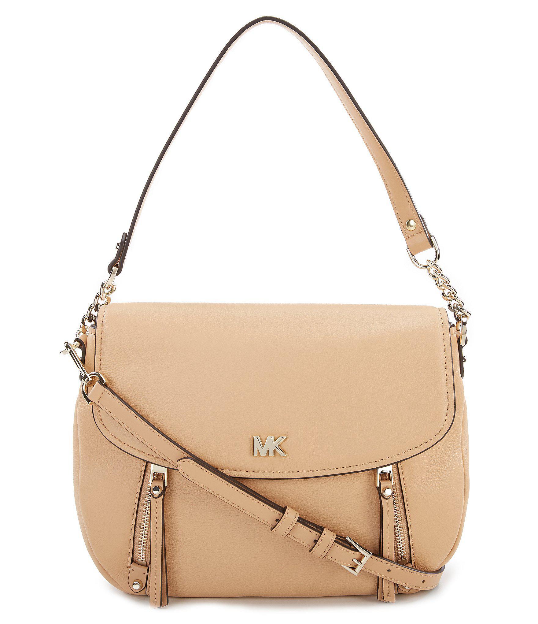 600b9e3d5835 Lyst - MICHAEL Michael Kors Evie Flap Shoulder Bag