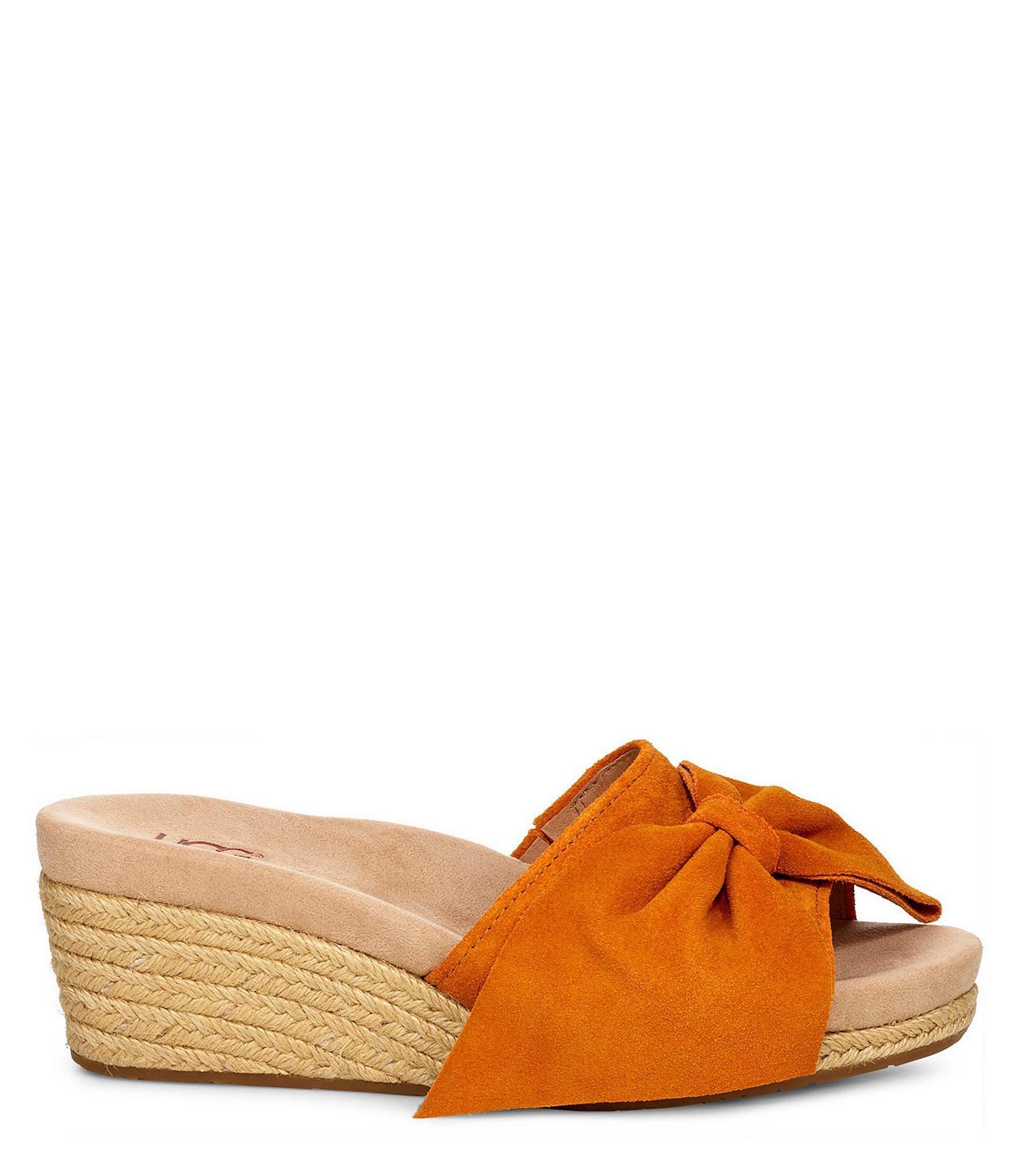 3d273d5063 Ugg - Brown Jaycee Wedge Sandals - Lyst. View fullscreen