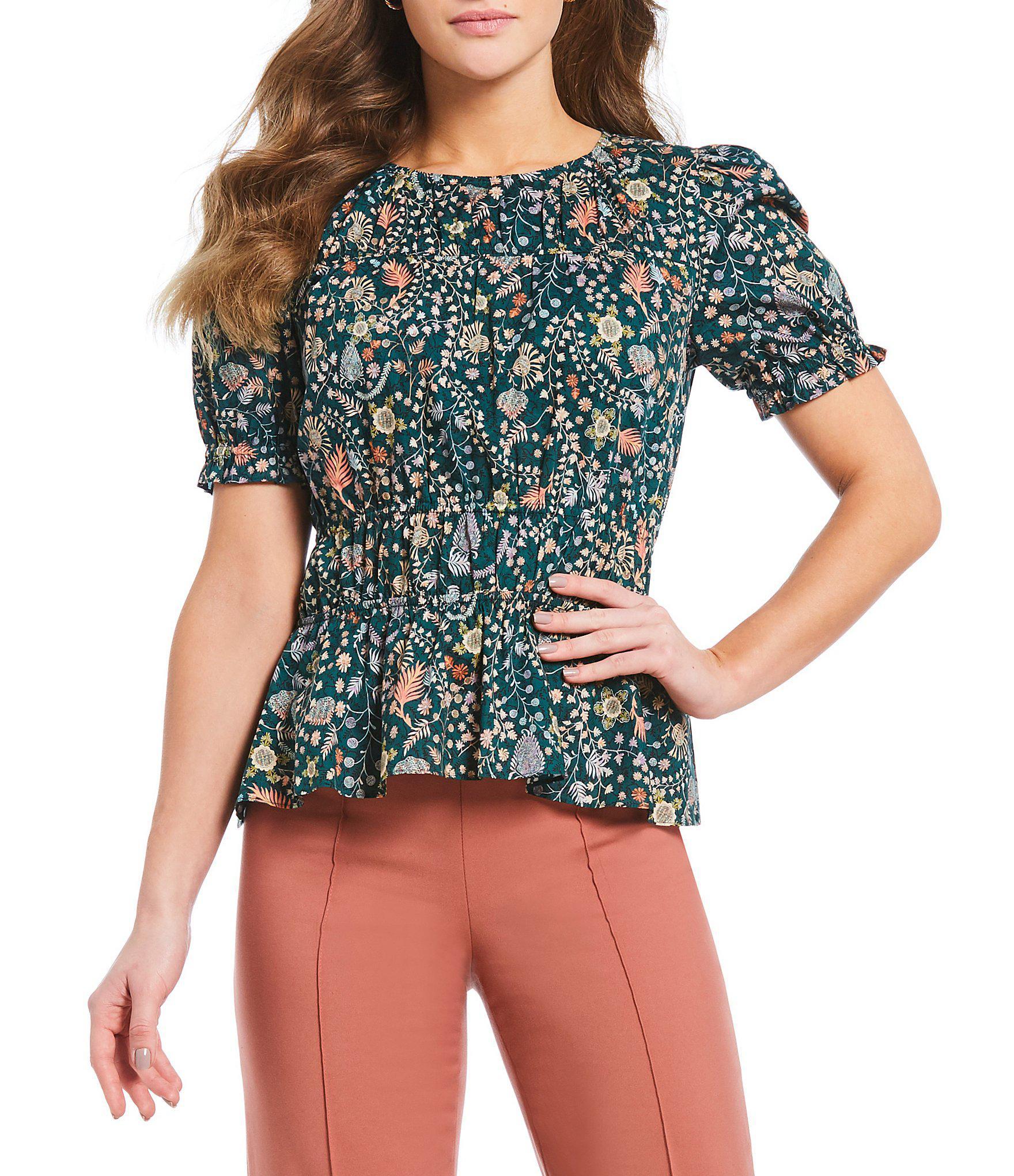 d71c38e0ba385 Lyst - Antonio Melani Made With Liberty Fabrics Mia Floral Print ...