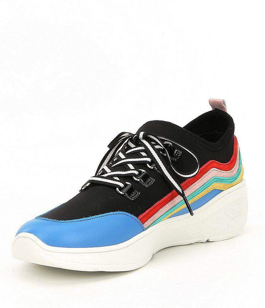 Cavo Striped Wedge Sneakers 680v4