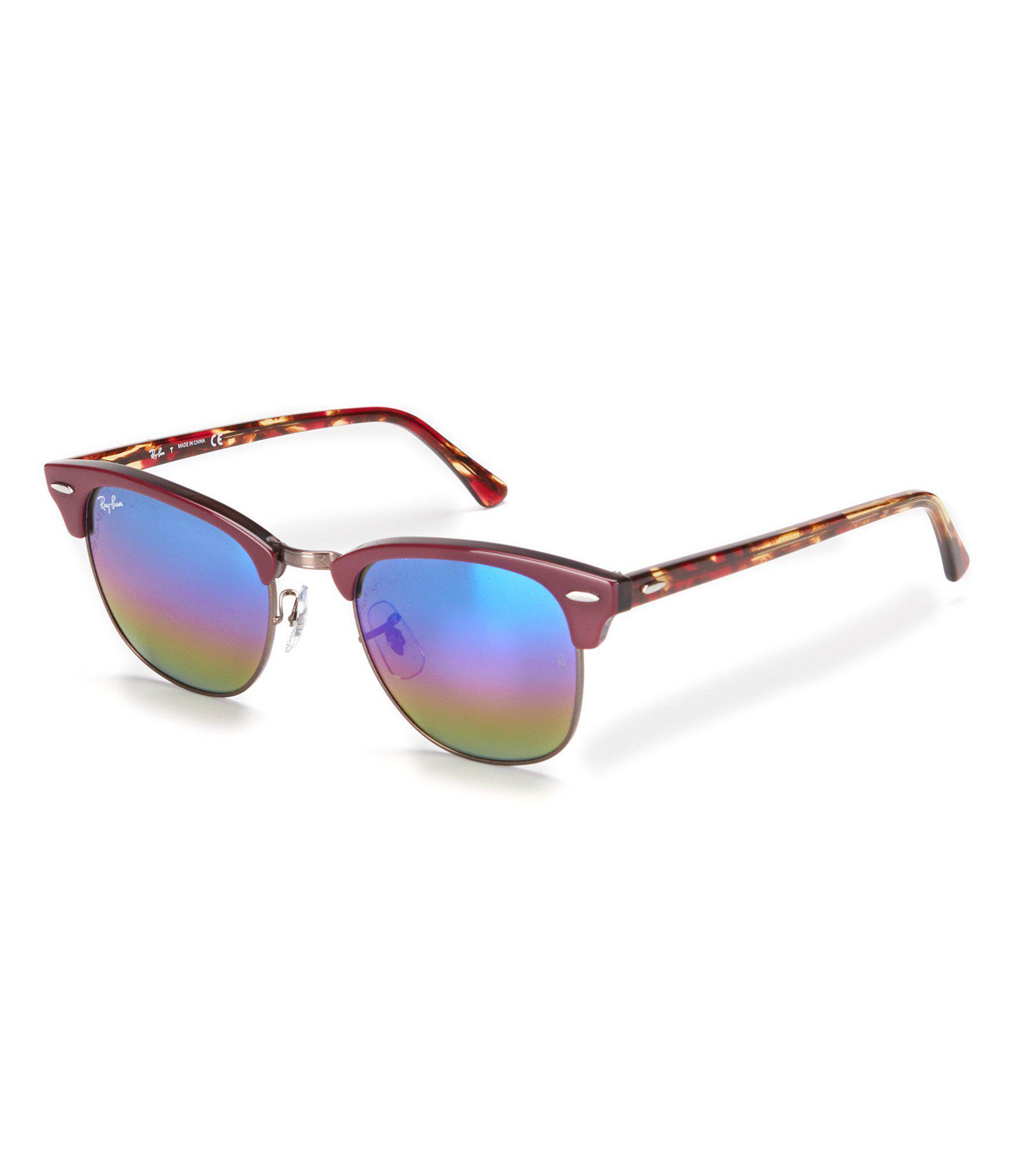 c92228df5667 Gallery. Previously sold at  Dillard s · Men s Ray Ban Clubmaster Men s  Wayfarer Sunglasses ...