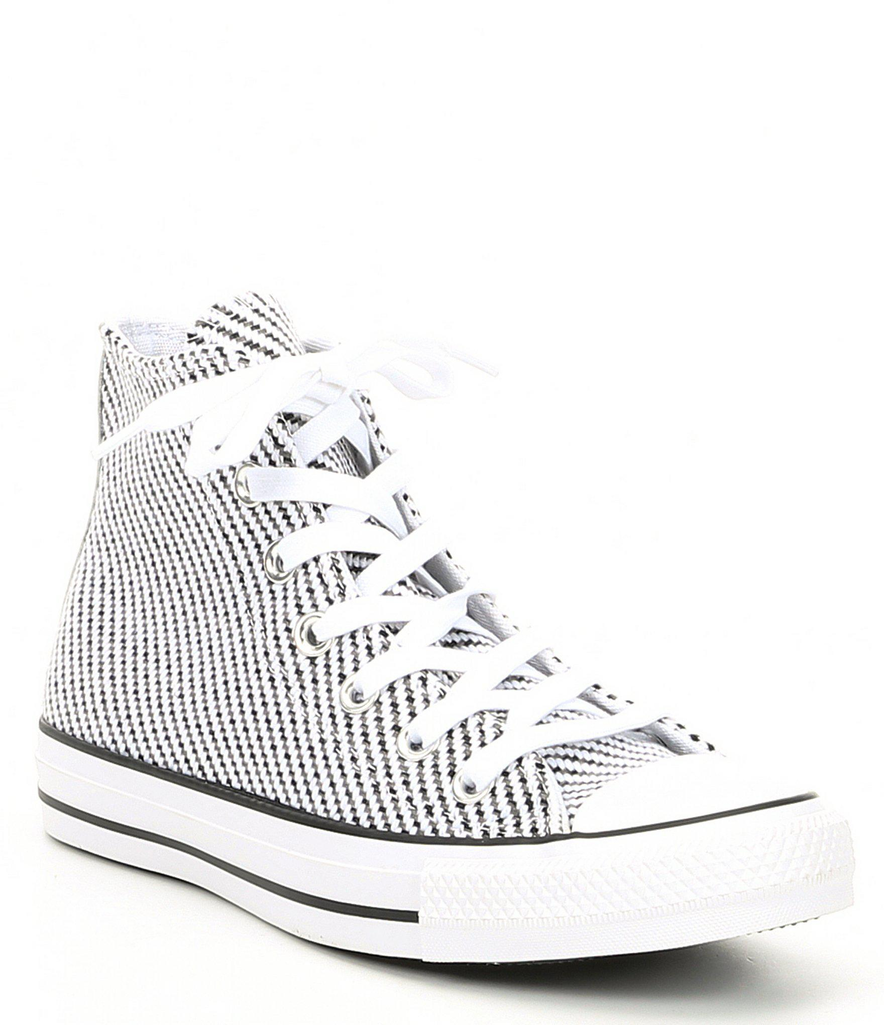 4c322dbcc1d0 Lyst - Converse Chuck Taylor All Star Hi Top Sneakers in White
