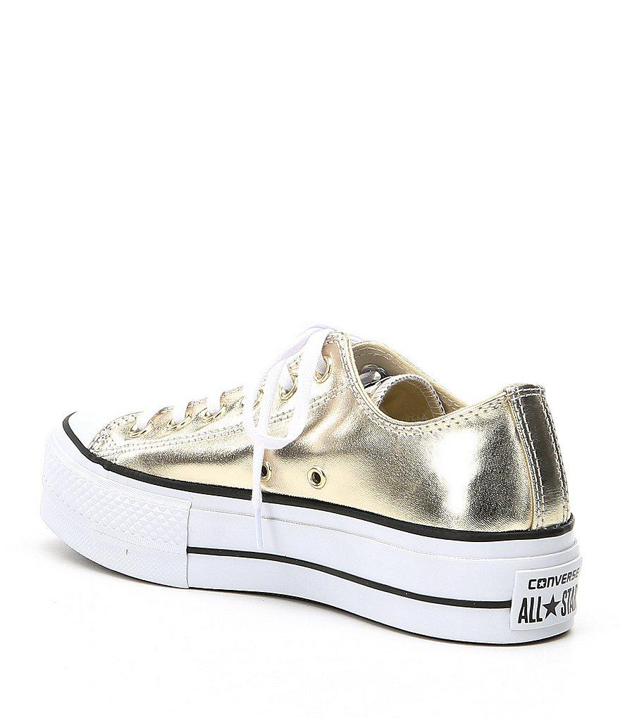 f005f181e304 Gallery. Previously sold at  Dillard s · Women s Converse Chuck Taylor  Women s Leather Sneakers Women s Vans Platform ...
