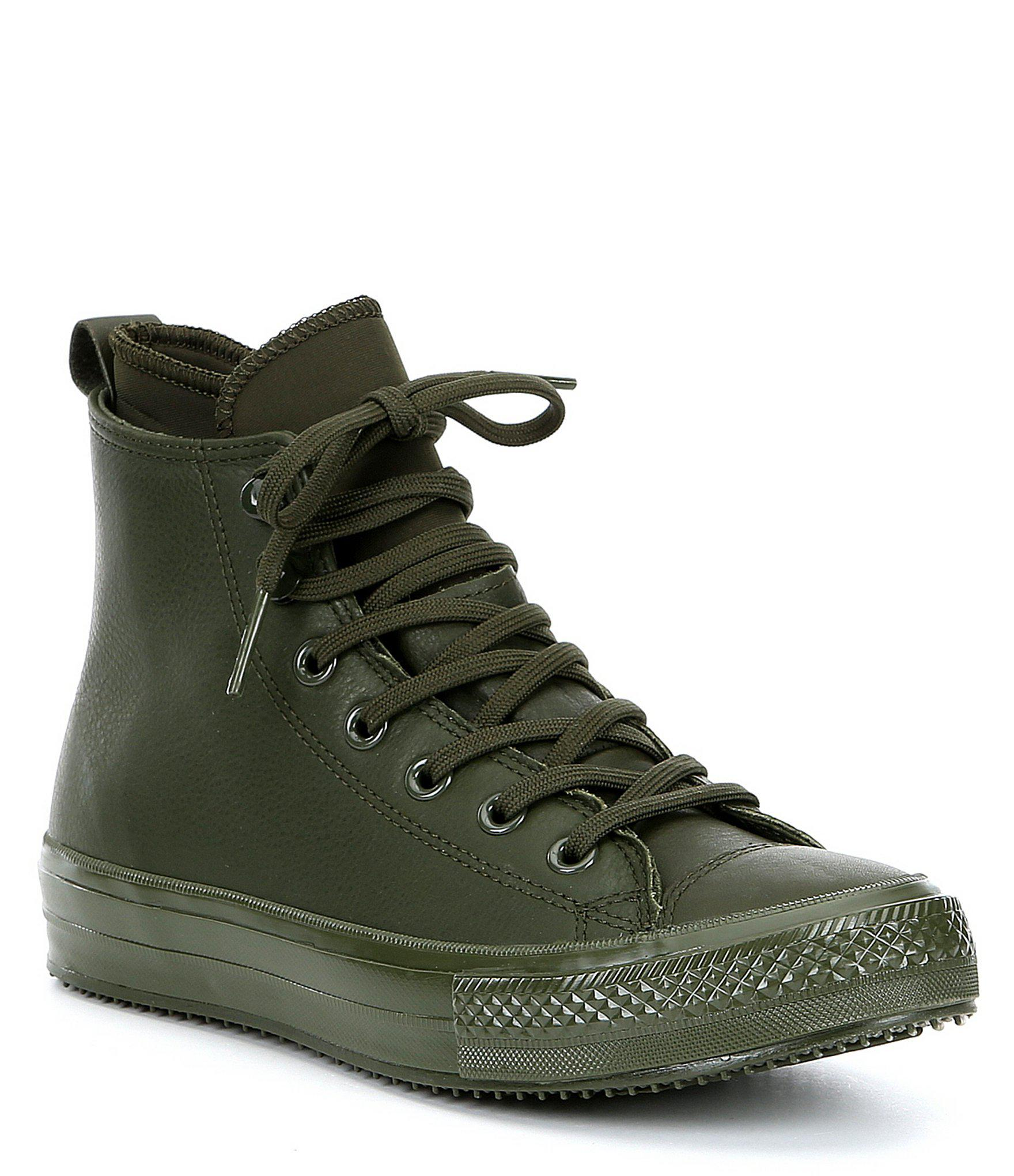 ecbeb8d0aed Lyst - Converse Chuck Taylor All Star Waterproof Boot Hi Sneakers in ...