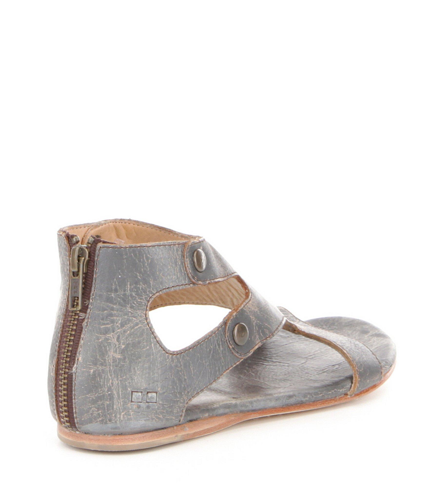 a28f4b8aef2f Bed Stu - Multicolor Soto Studded Leather Flat Sandals - Lyst. View  fullscreen