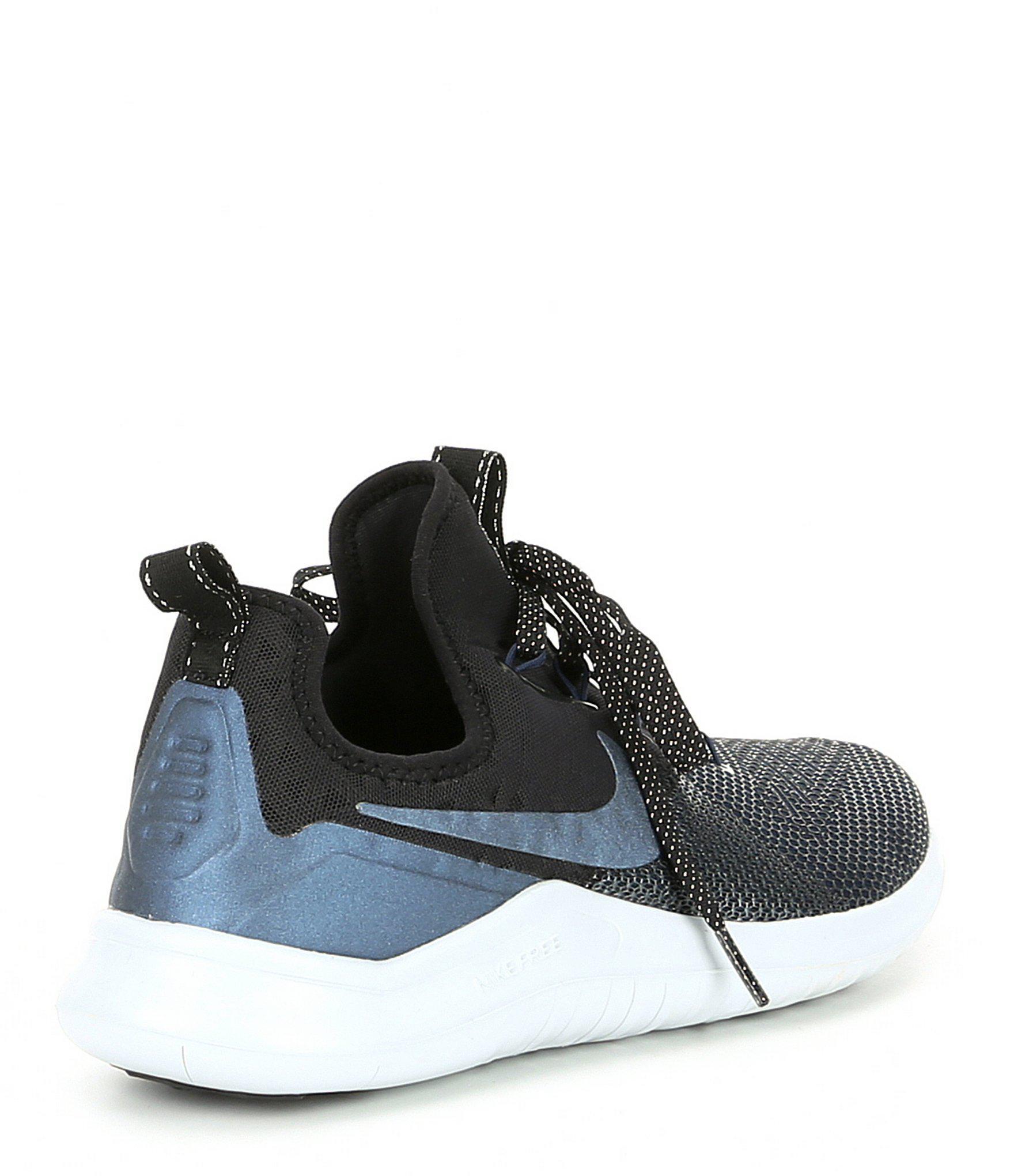 b2cc526ddb89 Lyst - Nike Women s Free Tr 8 Metallic Training Shoe in Black