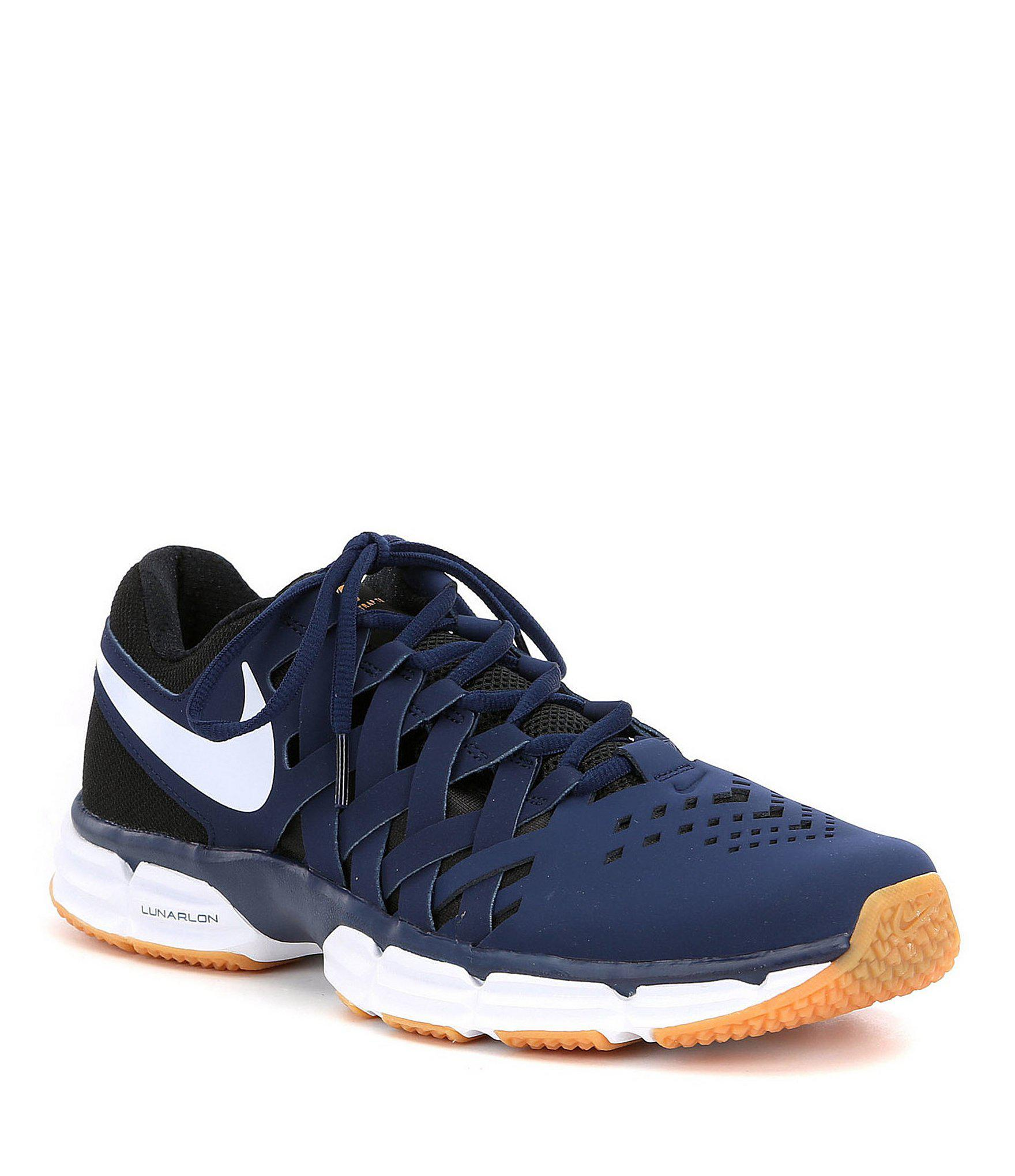 ... los angeles Lyst - Nike Men ́s Lunar Fingertrap Training Shoes in Red  for Men . ... 3397490a8