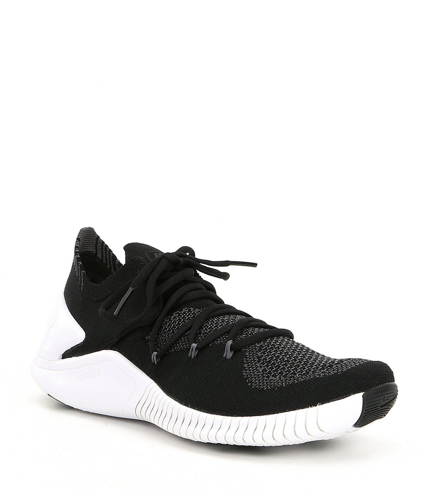666da8f00ec25 Lyst - Nike Women s Free Tr Flyknit 3 Training Shoes in Black