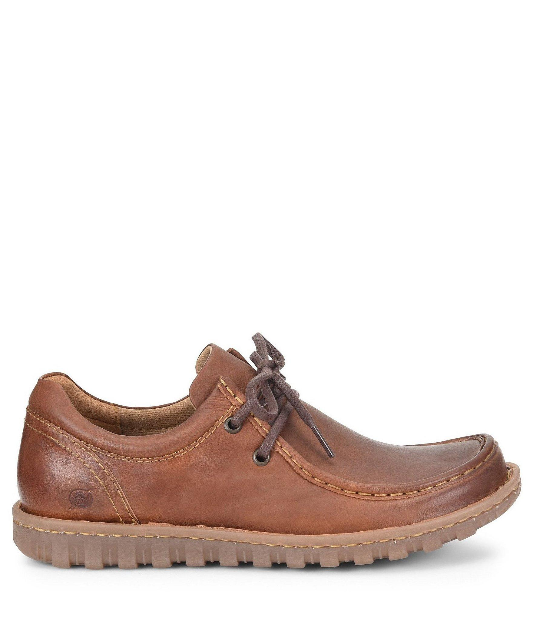8a525c3ba112 Lyst - Born Men s Gunnison Leather Oxford in Brown for Men