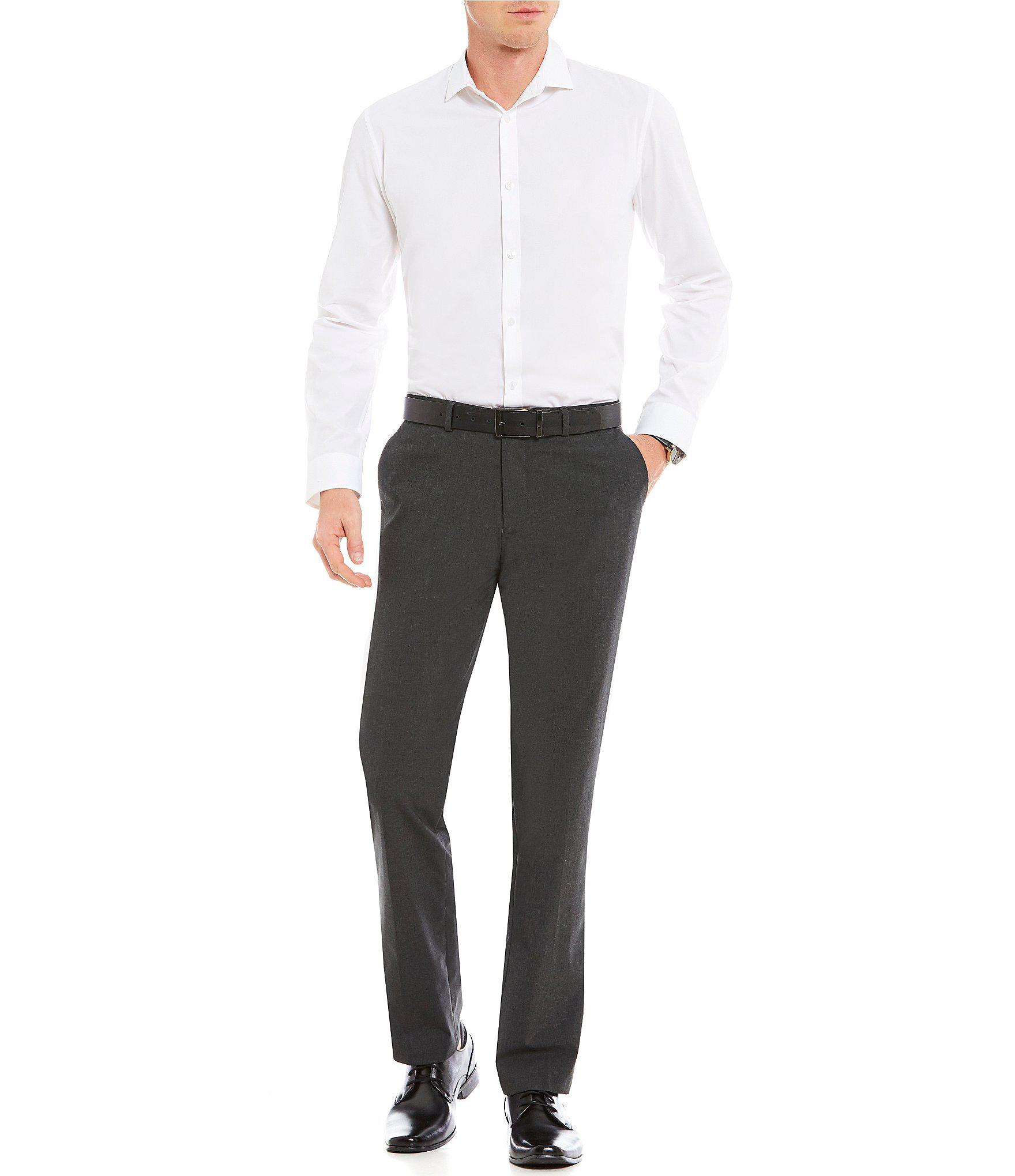 a2f7a42f4e07 Lyst - Calvin Klein Slim-fit End-on-end Bi-stretch Flat Front Suit ...
