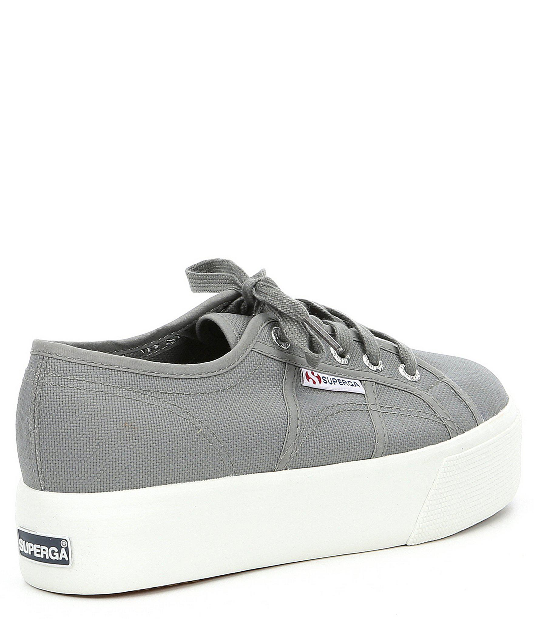 7d1c89427dcf Superga - Gray 2790-acotw Linea Up And Down Trainers - Lyst. View fullscreen