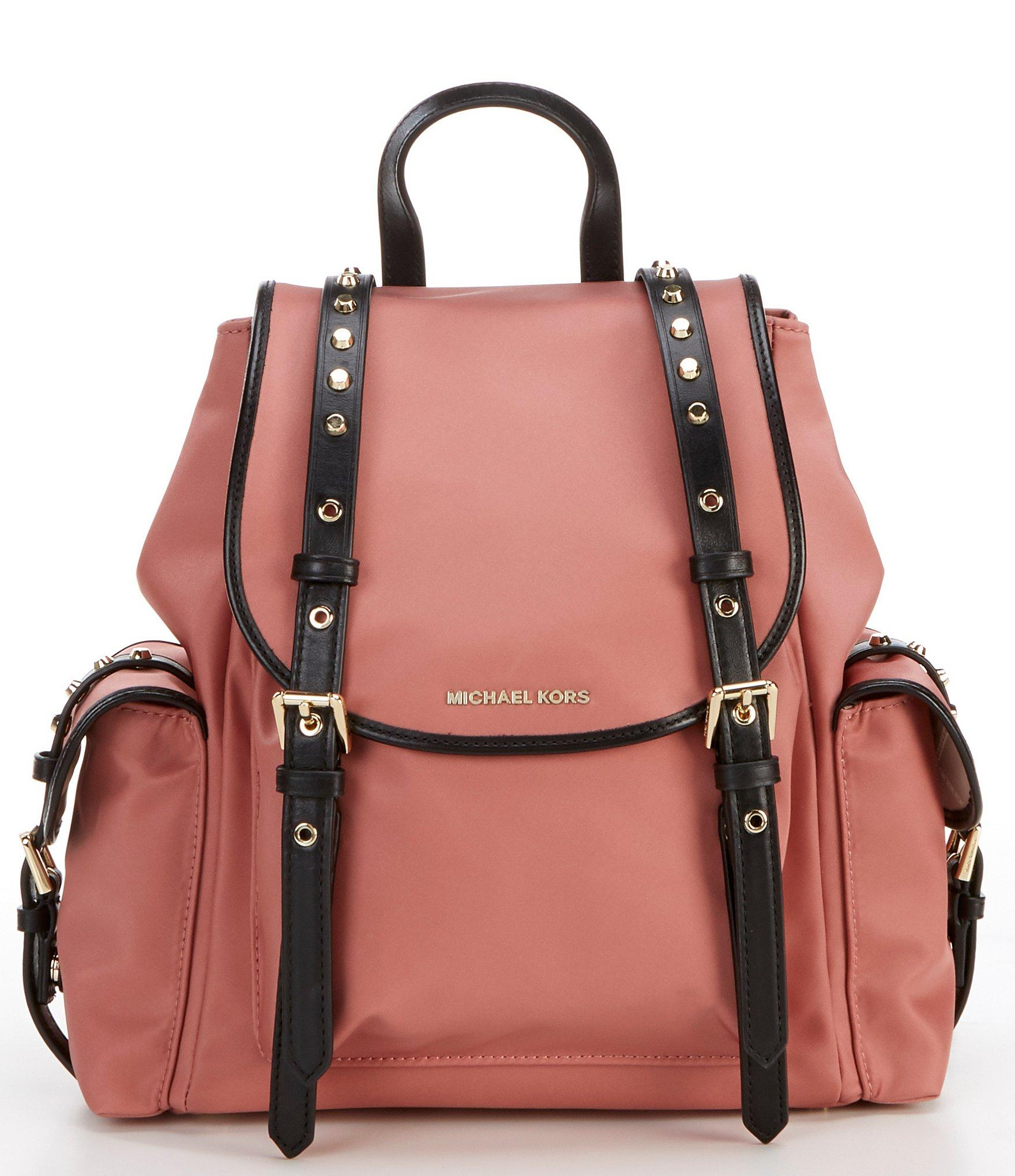 555c95ec8ec1 MICHAEL Michael Kors Michael Kors Leila Olive Green Backpack in ...