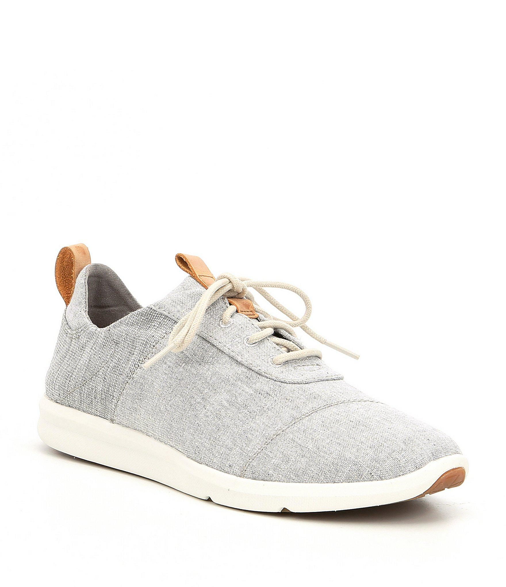 33a7c10824a9 Lyst - TOMS Women s Cabrillo Chambray Sneakers in Gray
