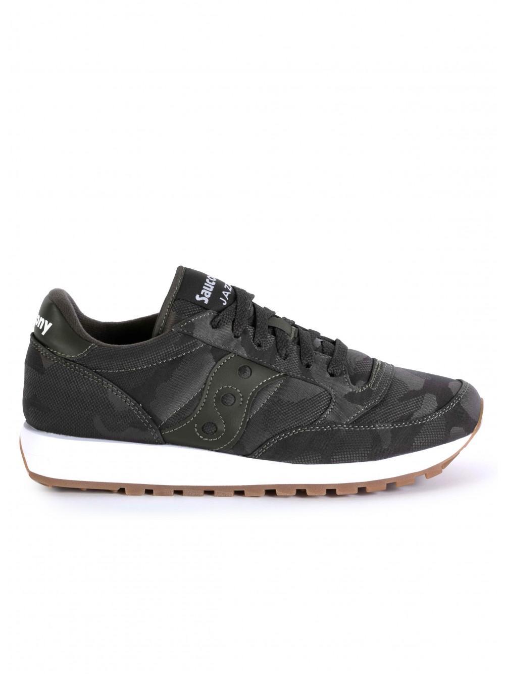 buy popular 145ab 1e89d Saucony. Men s Gray Jazz Original Camo Sneakers