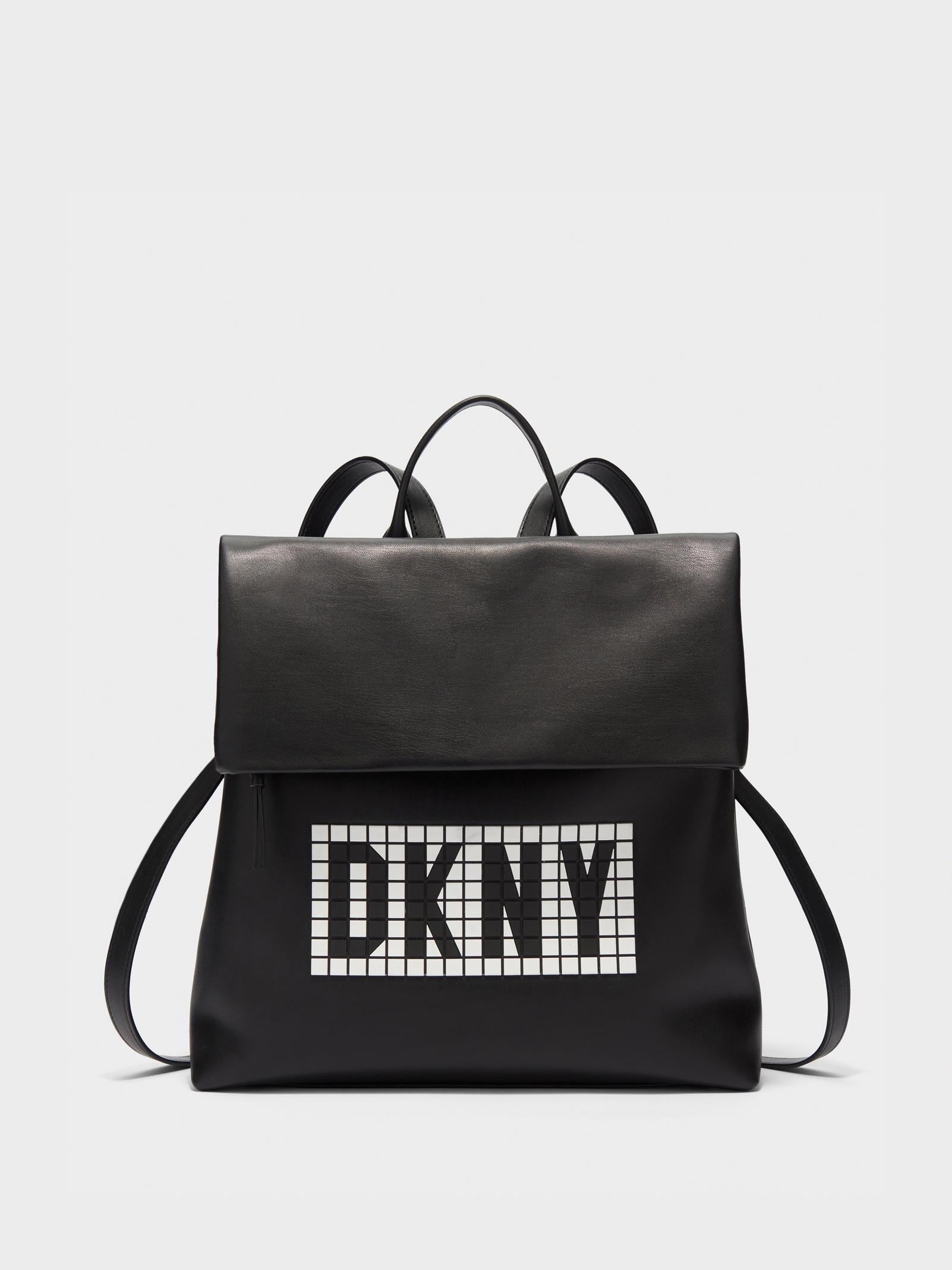 f2e5b19a72ef Lyst - DKNY Tilly Tile Backpack in Black