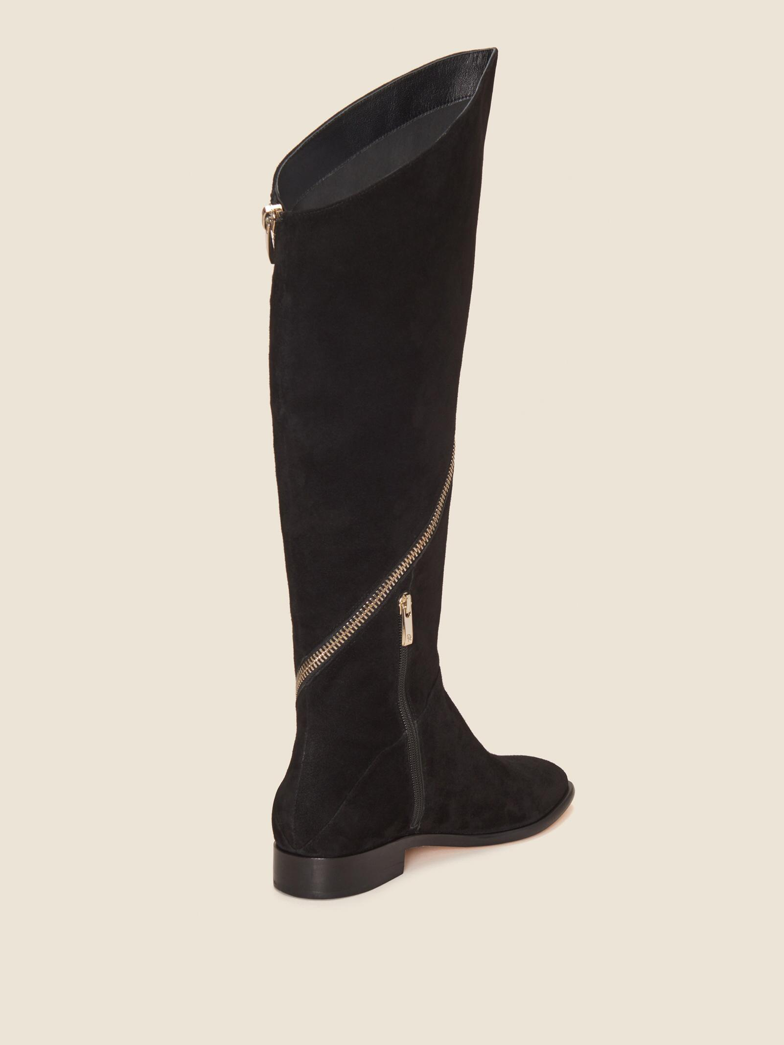 e1fd45bb9c3c Lyst - DKNY Lara Knee High Boot in Black