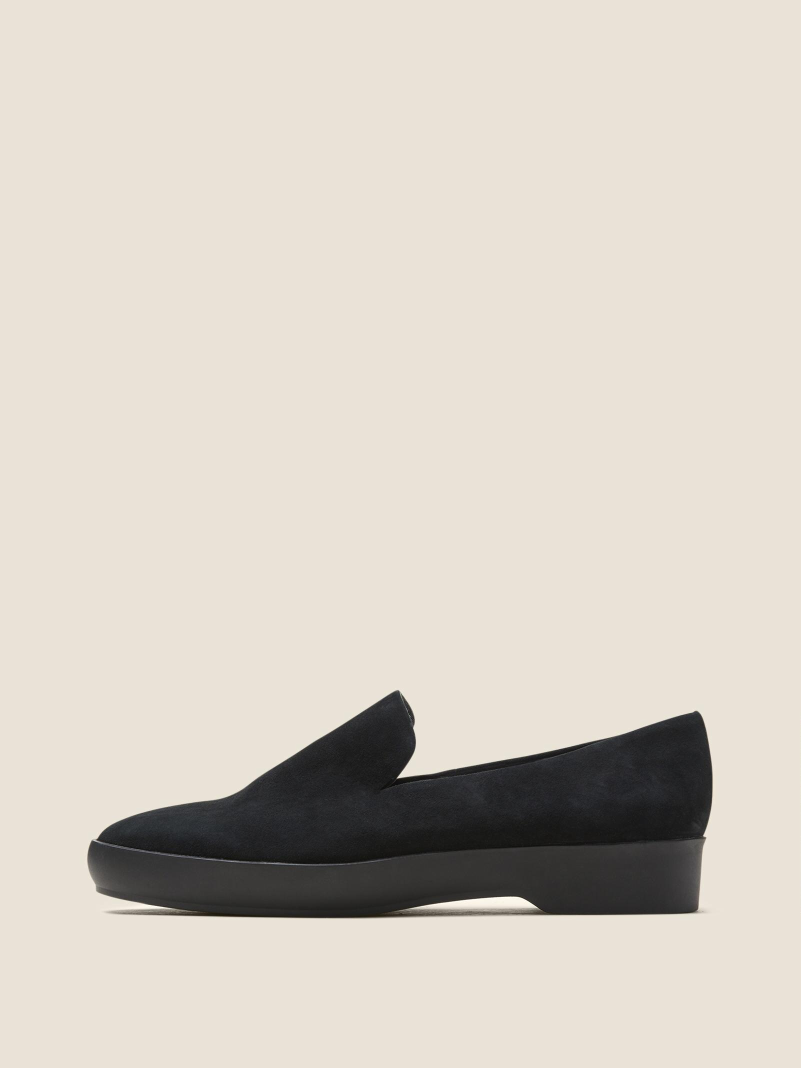 Pia Suede Casual Slip-Ons DAlfIsa63S