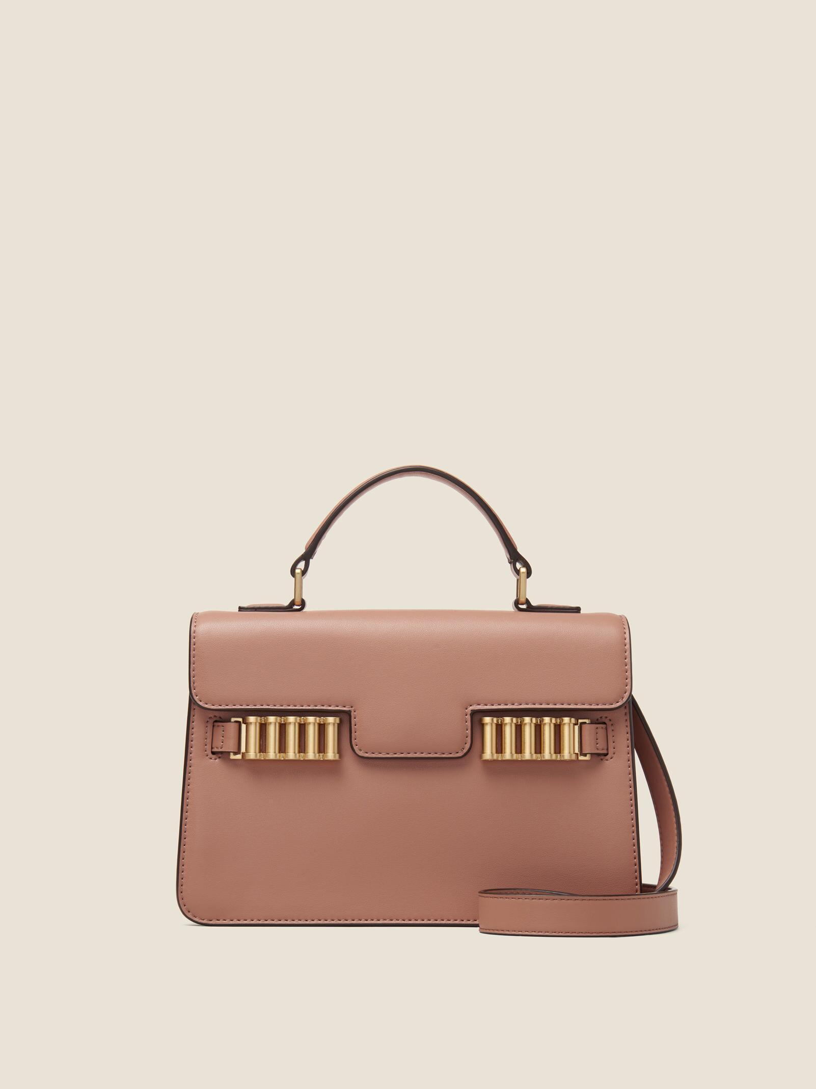 047c663dec88 Lyst - DKNY Paola Leather Crossbody
