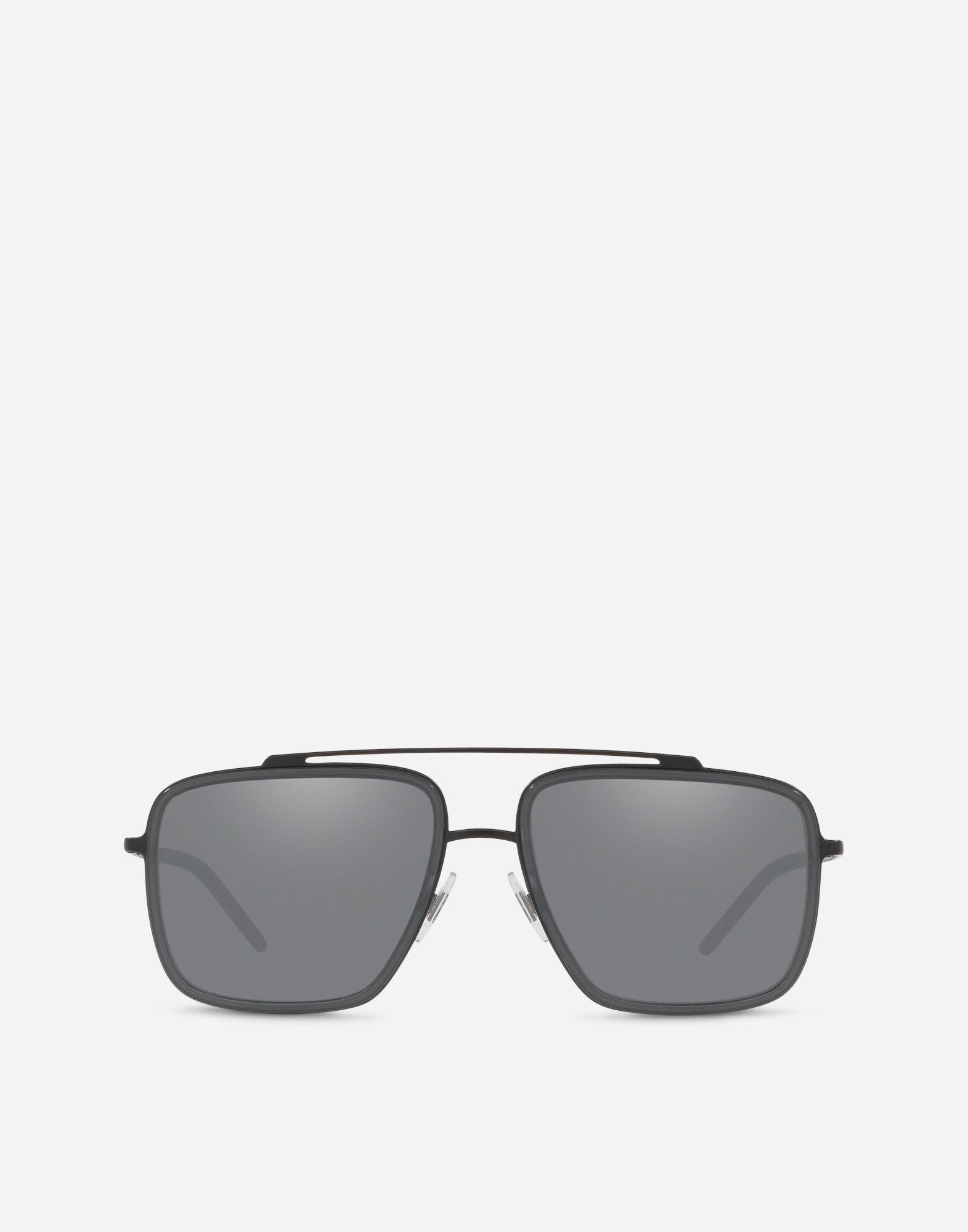 6a662416077b8 Dolce   Gabbana Madison Sunglasses in Gray for Men - Lyst