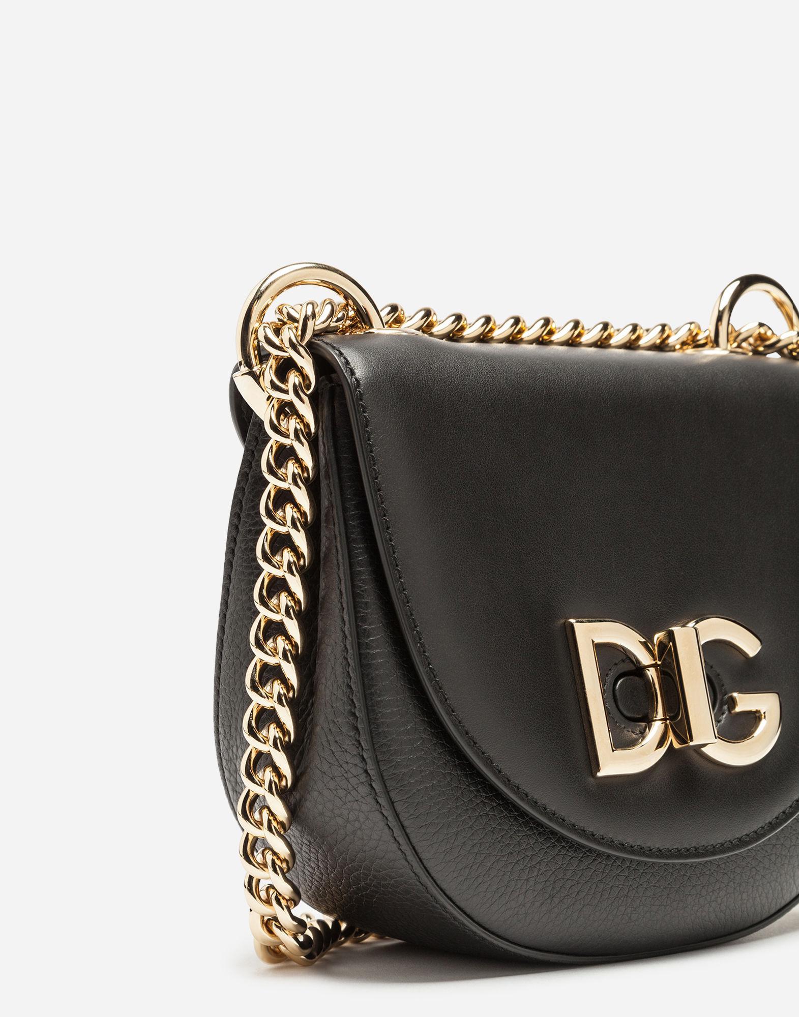 79ab2bc9dcb5 Lyst - Dolce   Gabbana Small Wifi Bag In Calfskin in Black