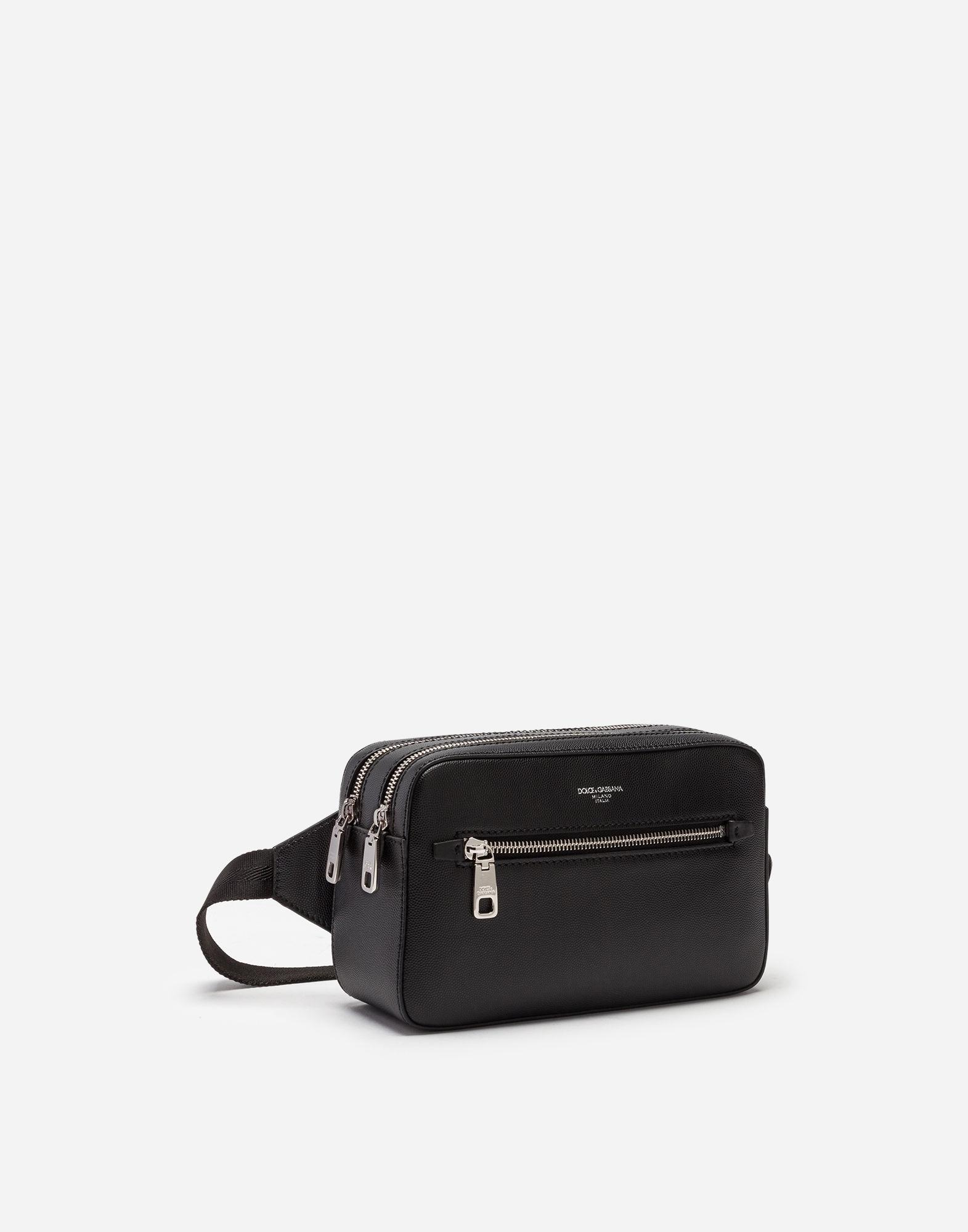 Lyst - Dolce   Gabbana Gothic Pouch In Calfskin in Black for Men d7e2c65122c2b