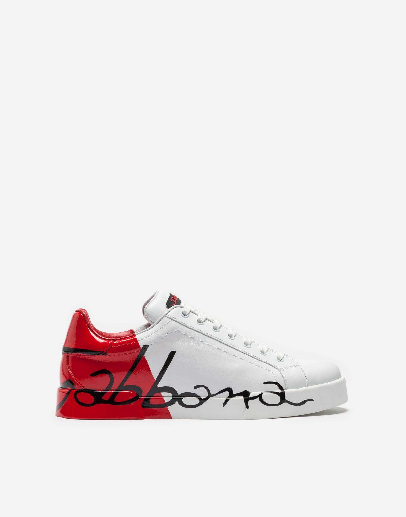 Dolce & GabbanaDolce & Gabbana & Portofino Logo Sneakers