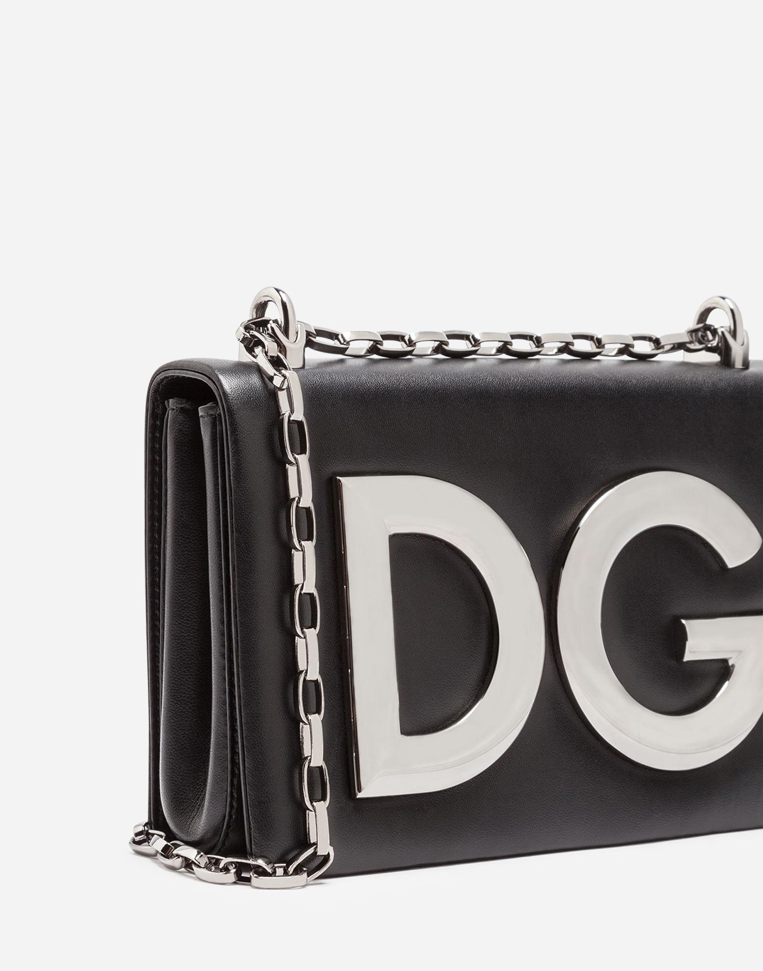 7ce7150f94 Lyst - Dolce   Gabbana Dg Girls Shoulder Bag In Nappa Leather in Black